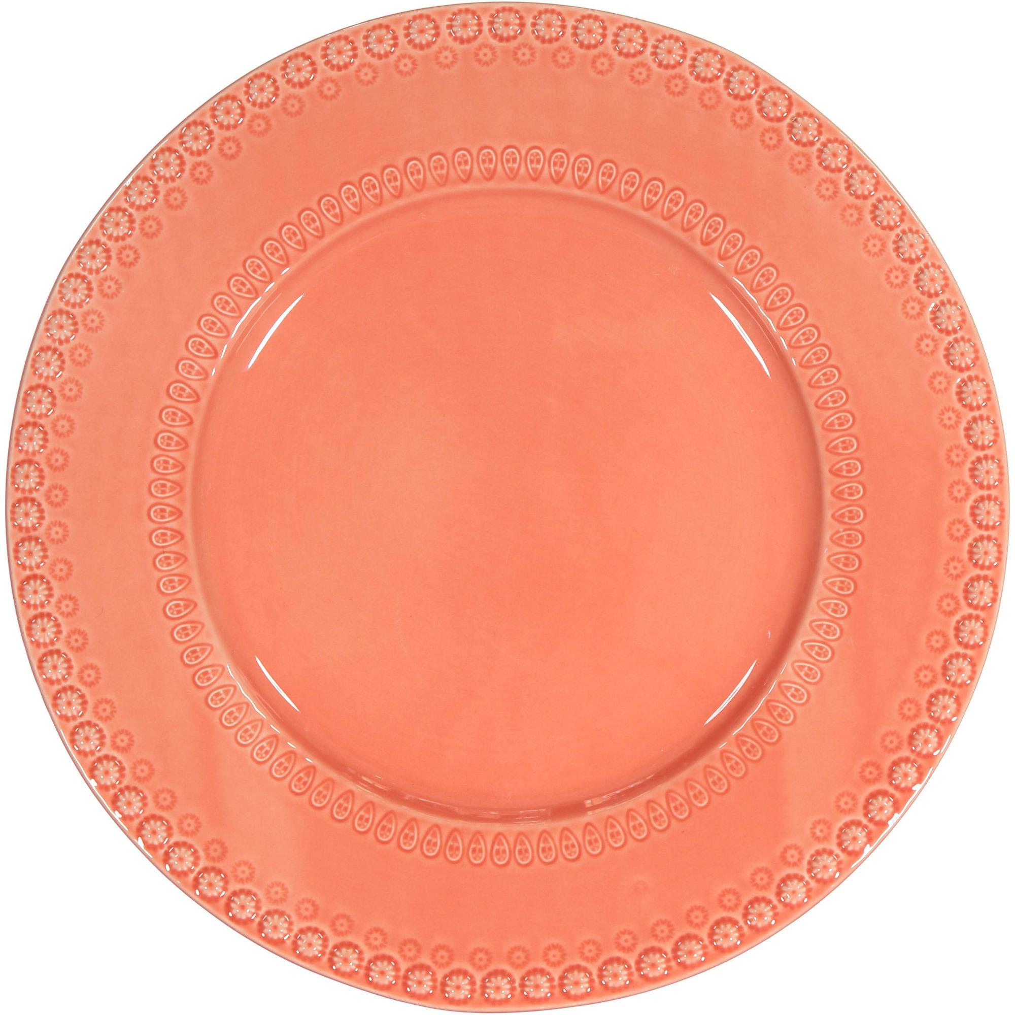 PotteryJo Daisy Underläggstallrik 35 cm New Tangerine
