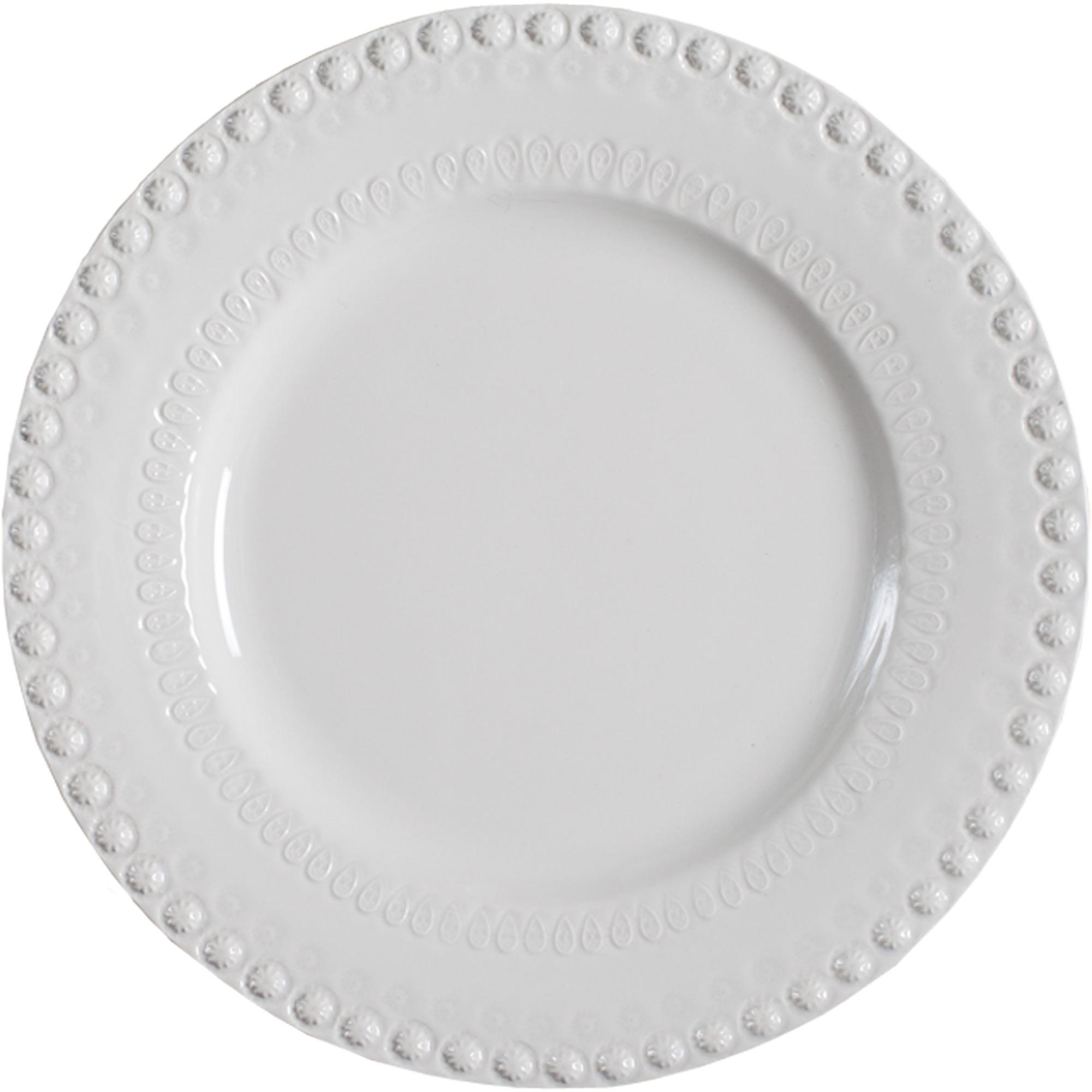 PotteryJo Daisy Underläggstallrik 35 cm White