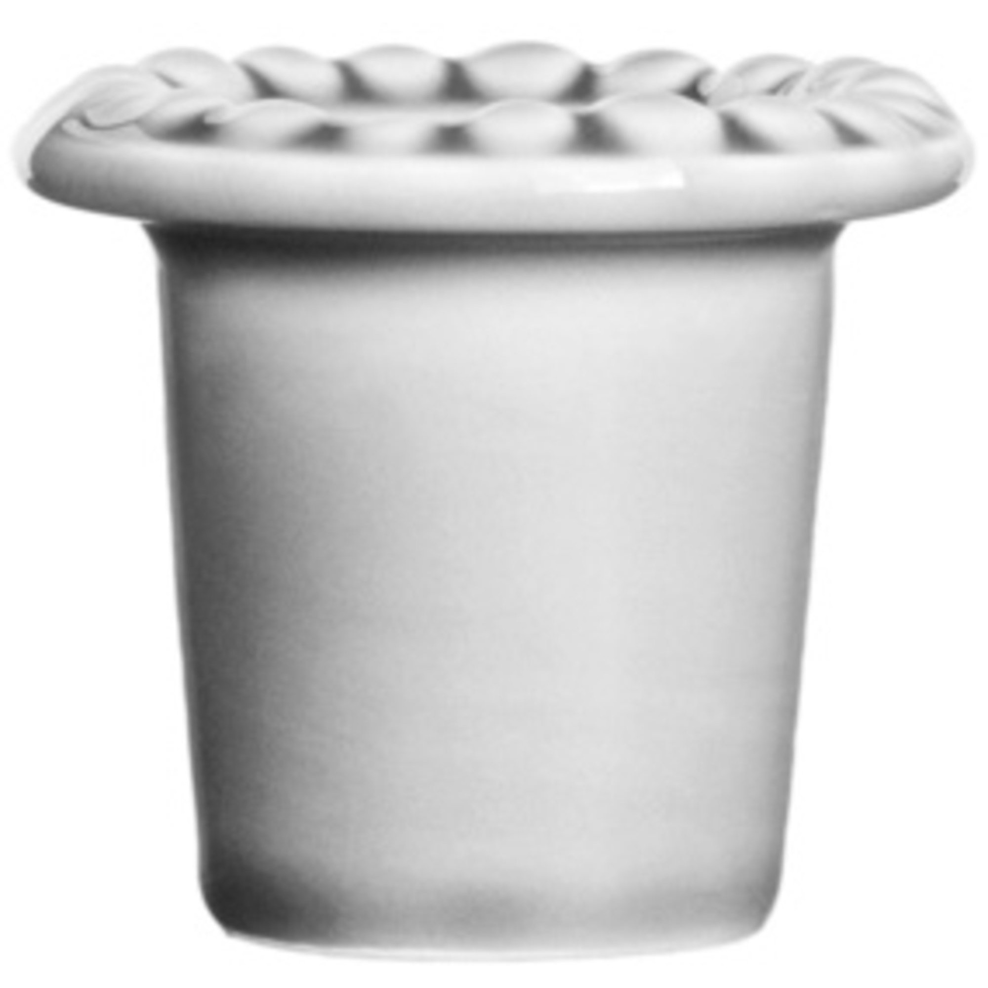 PotteryJo Daria Äggkopp White