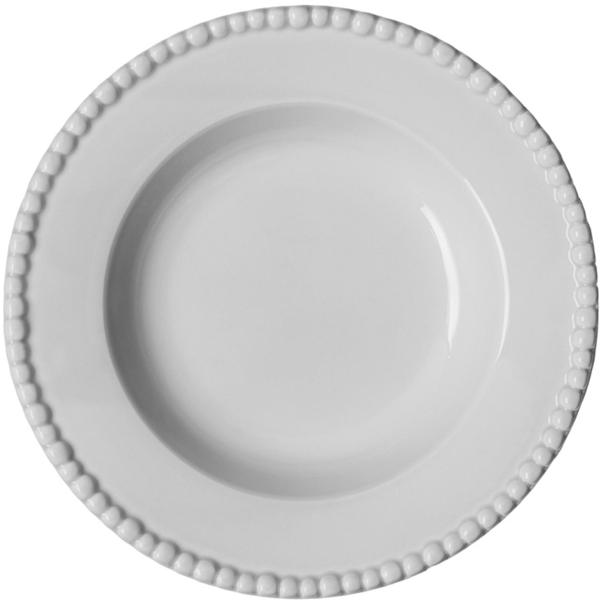 PotteryJo Daria Djup Tallrik 26 cm White
