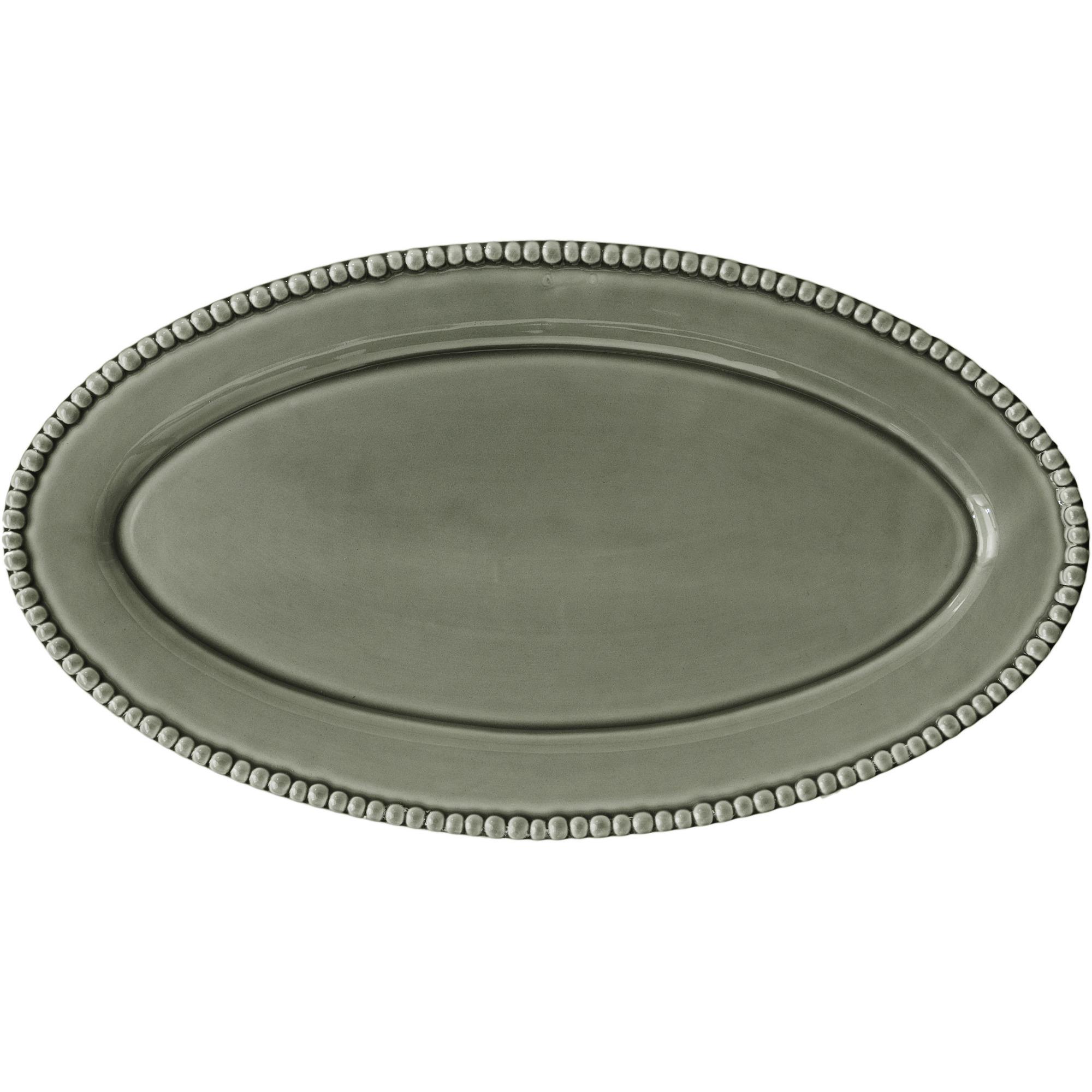 PotteryJo Ovalt Uppläggningsfat 50 cm Faded Army