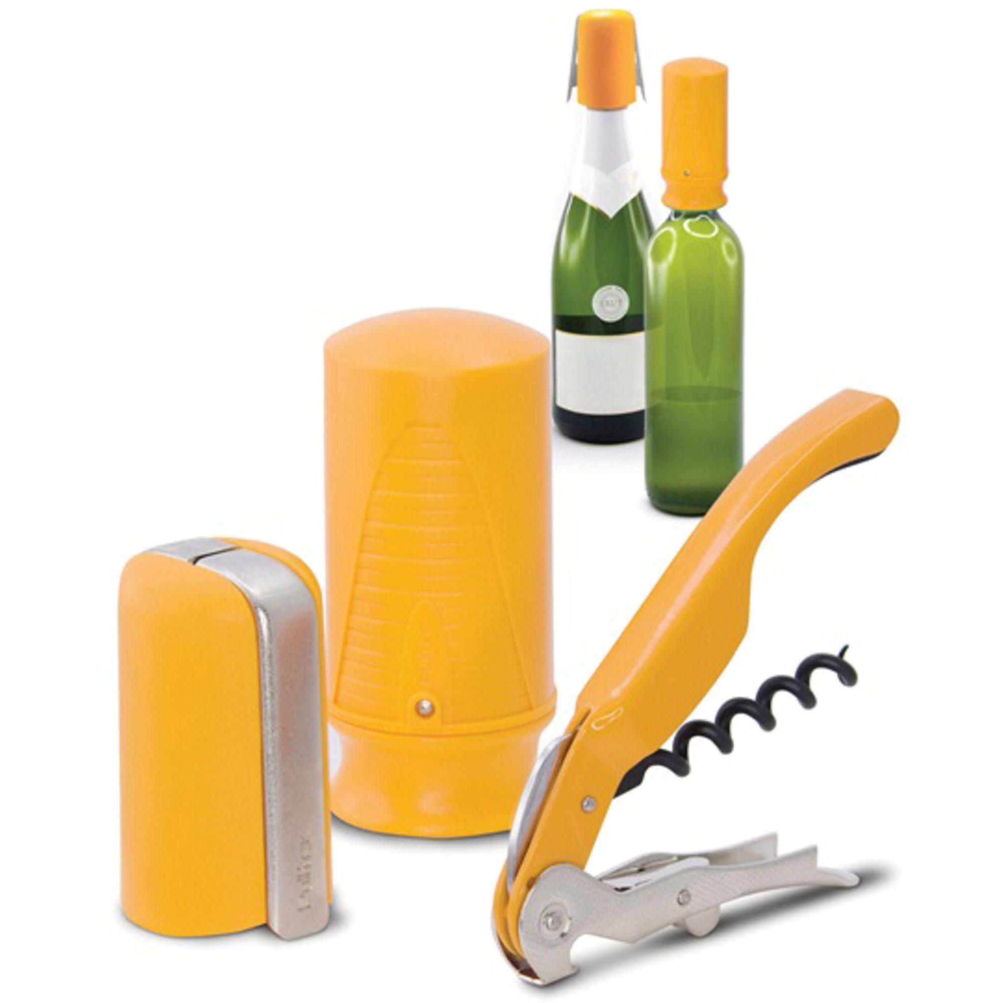 Pulltex Vin & Champagne Startset Gul
