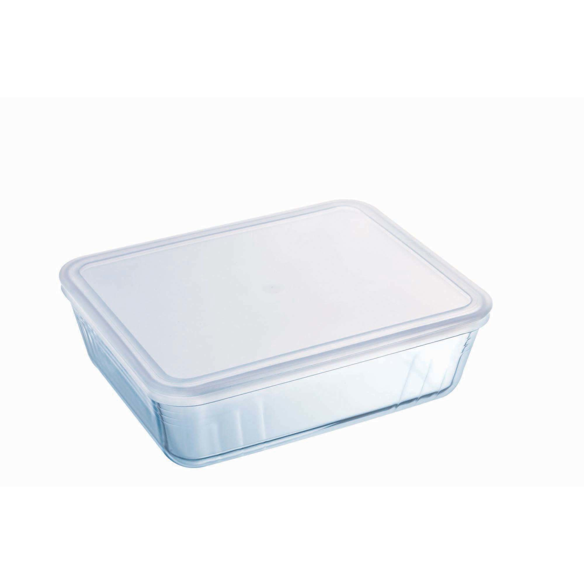Pyrex Cook & Freeze Ugnsform med Lock/Matlåda 25×19 cm 26 l