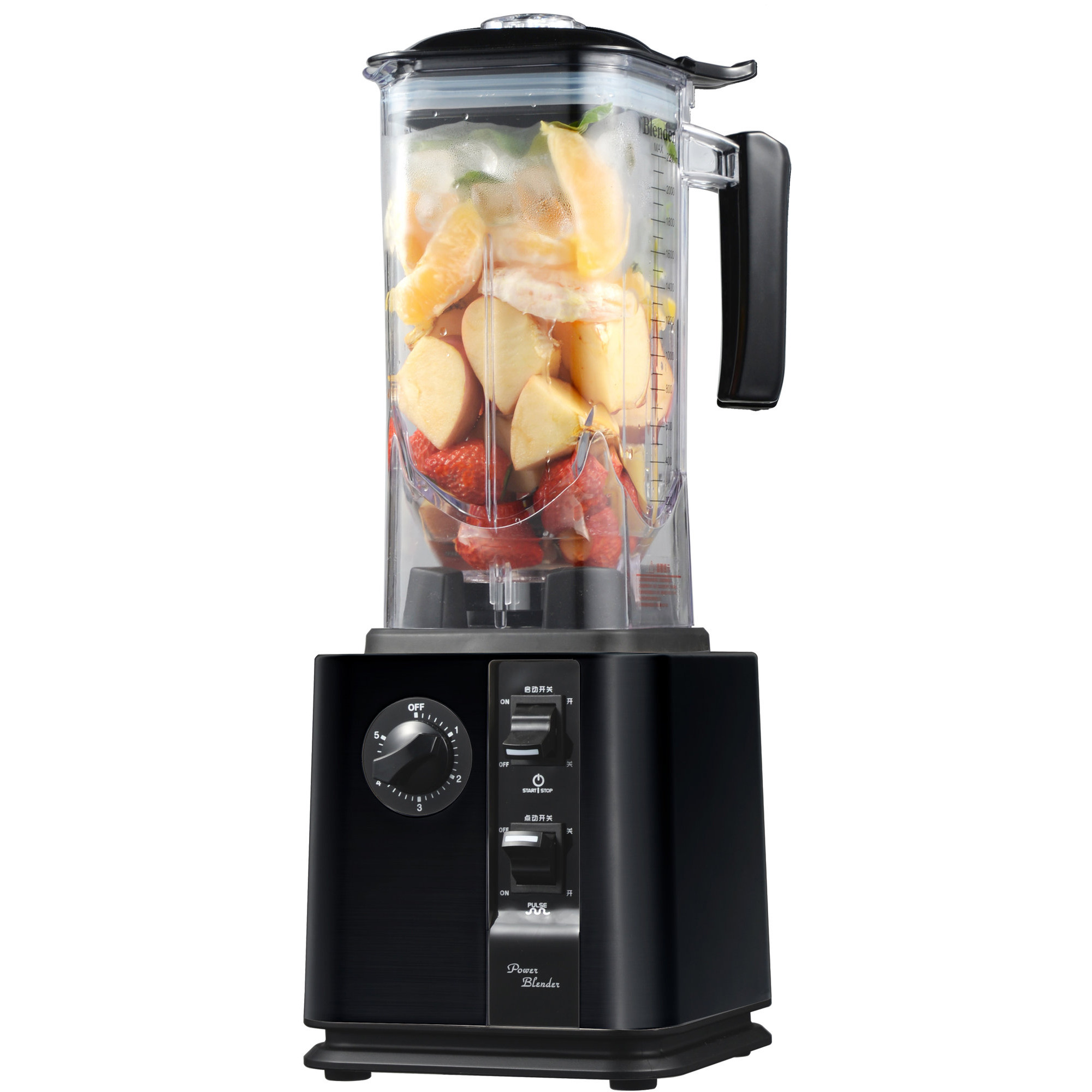 Raw Blender Fuel 1800 2,5HP, Svart