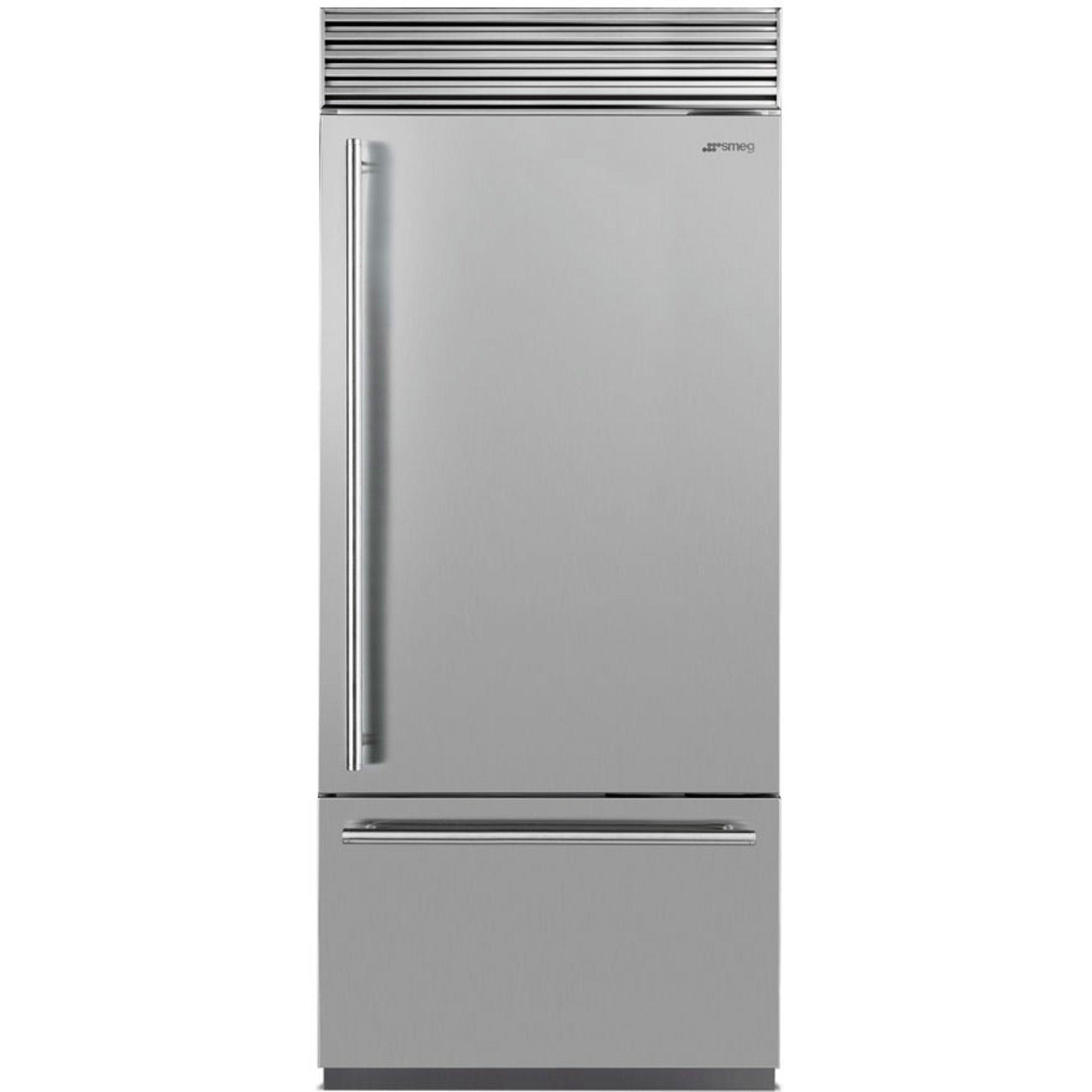 Smeg RF396RSIX Køle-/fryseskab højrehængt