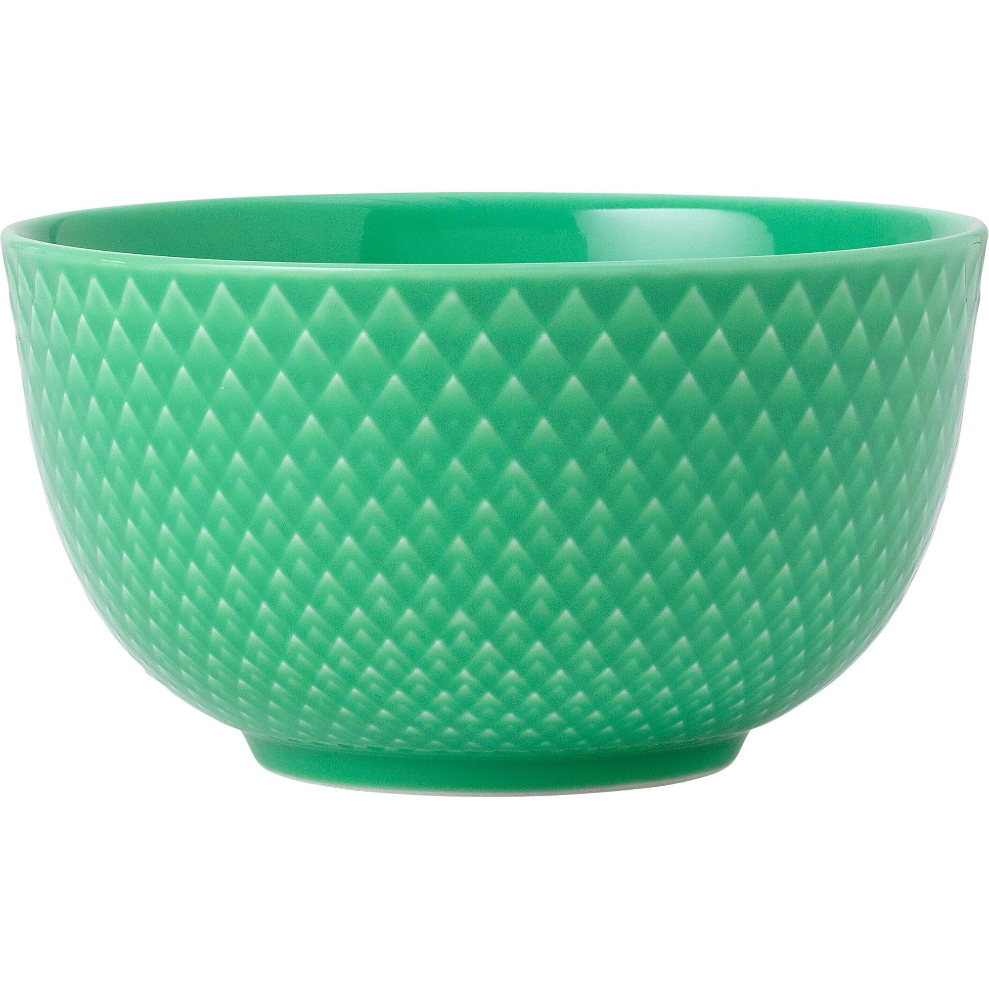 Rhombe Color Skål 11 cm Grön