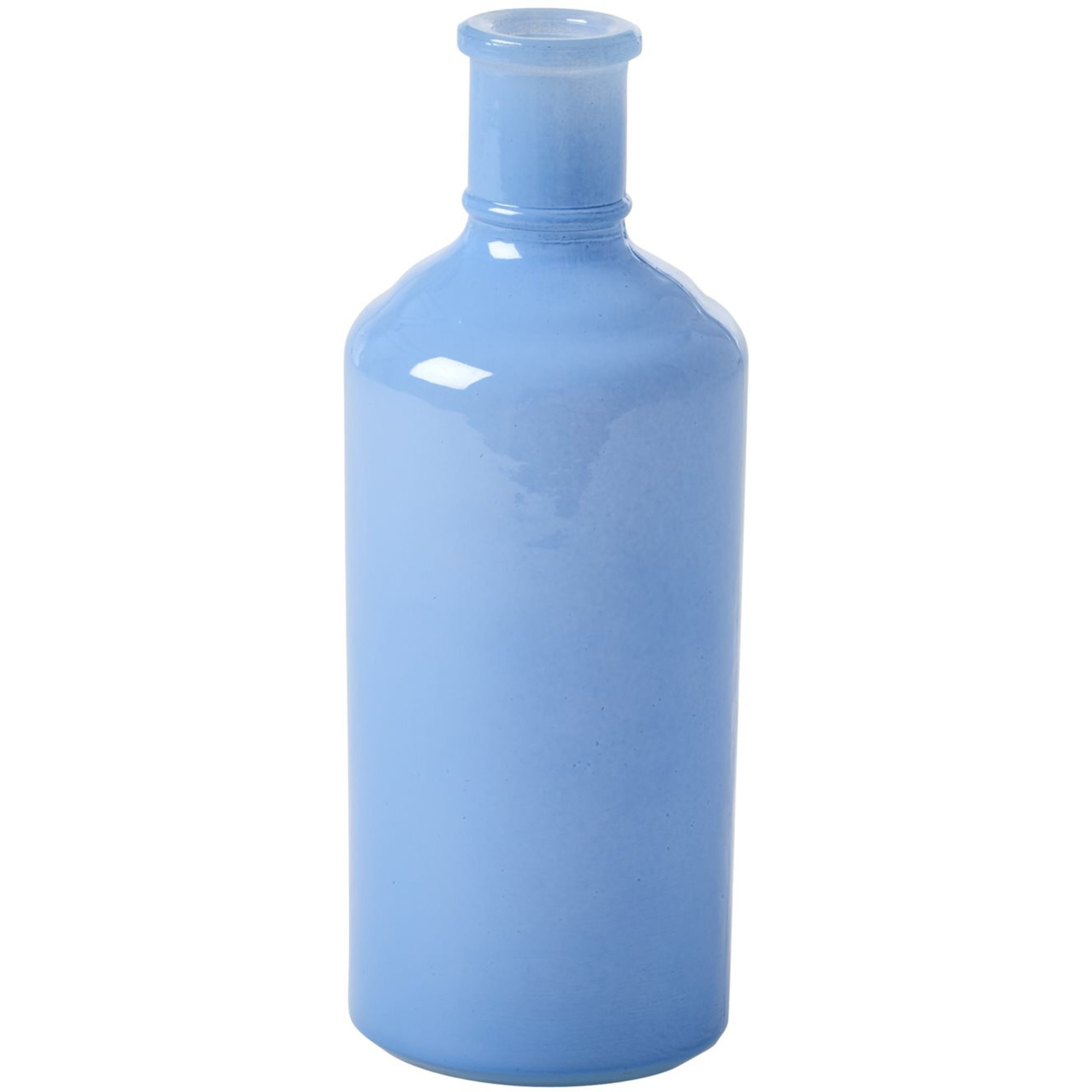 Rice Stor Glasvas Flaskformad Dusty Blue