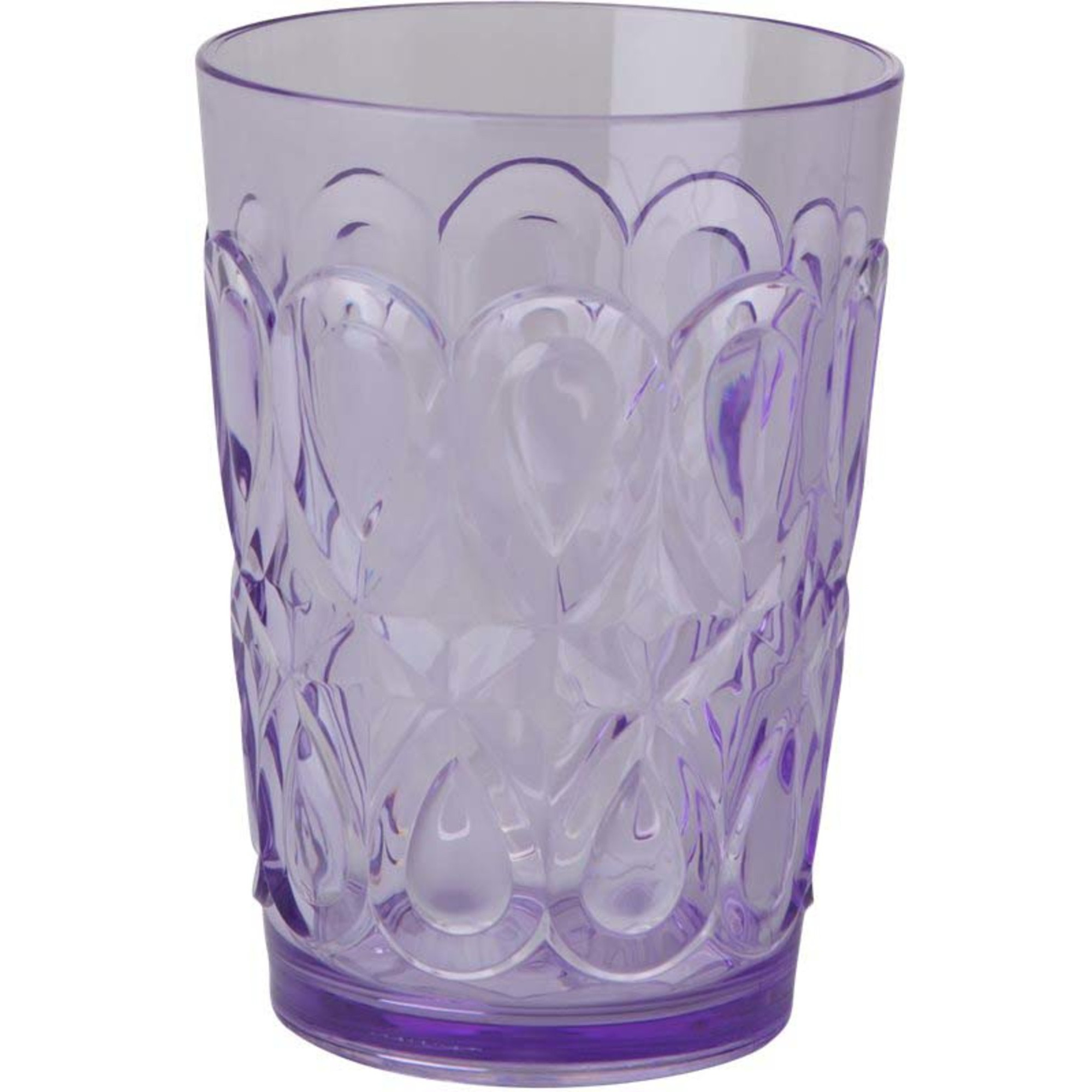 Rice Swirly Embossed Tumbler Lavendel