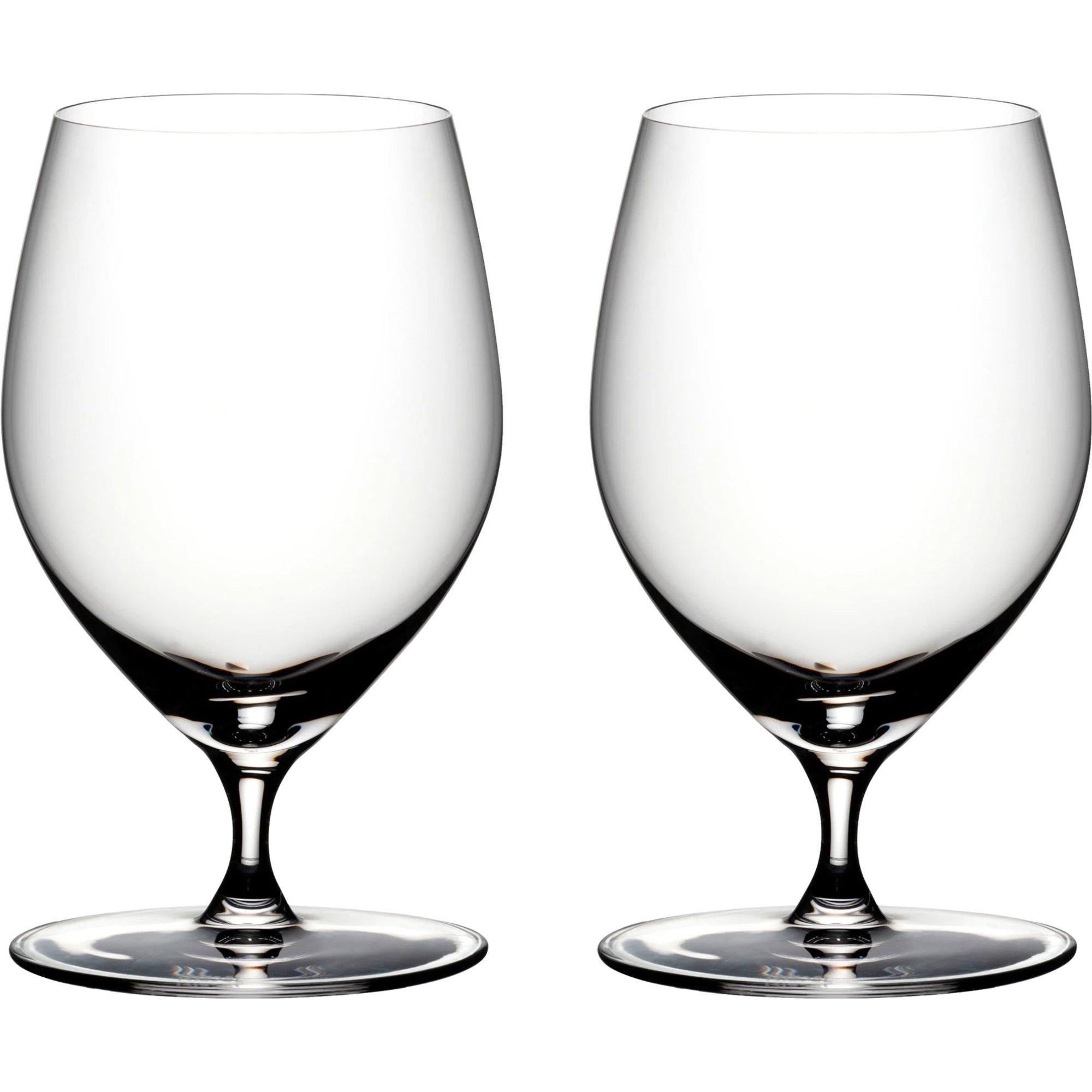 Riedel Veritas vattenglas 2 st.