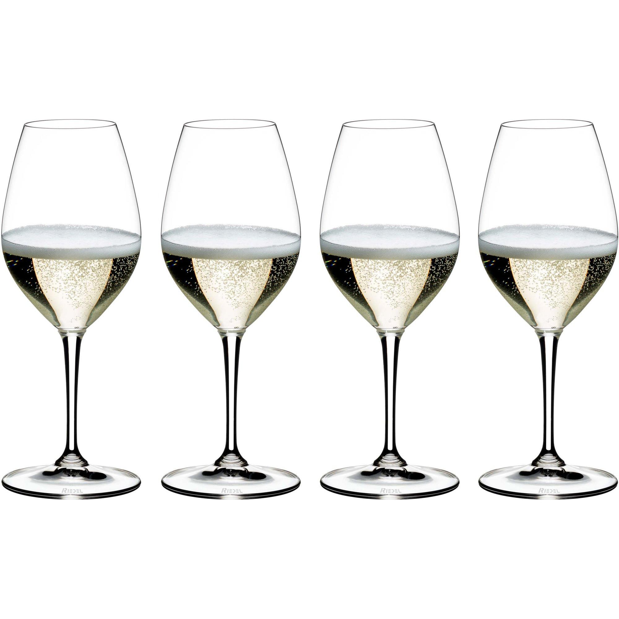 Riedel Vinum Champagneglas 4-pack