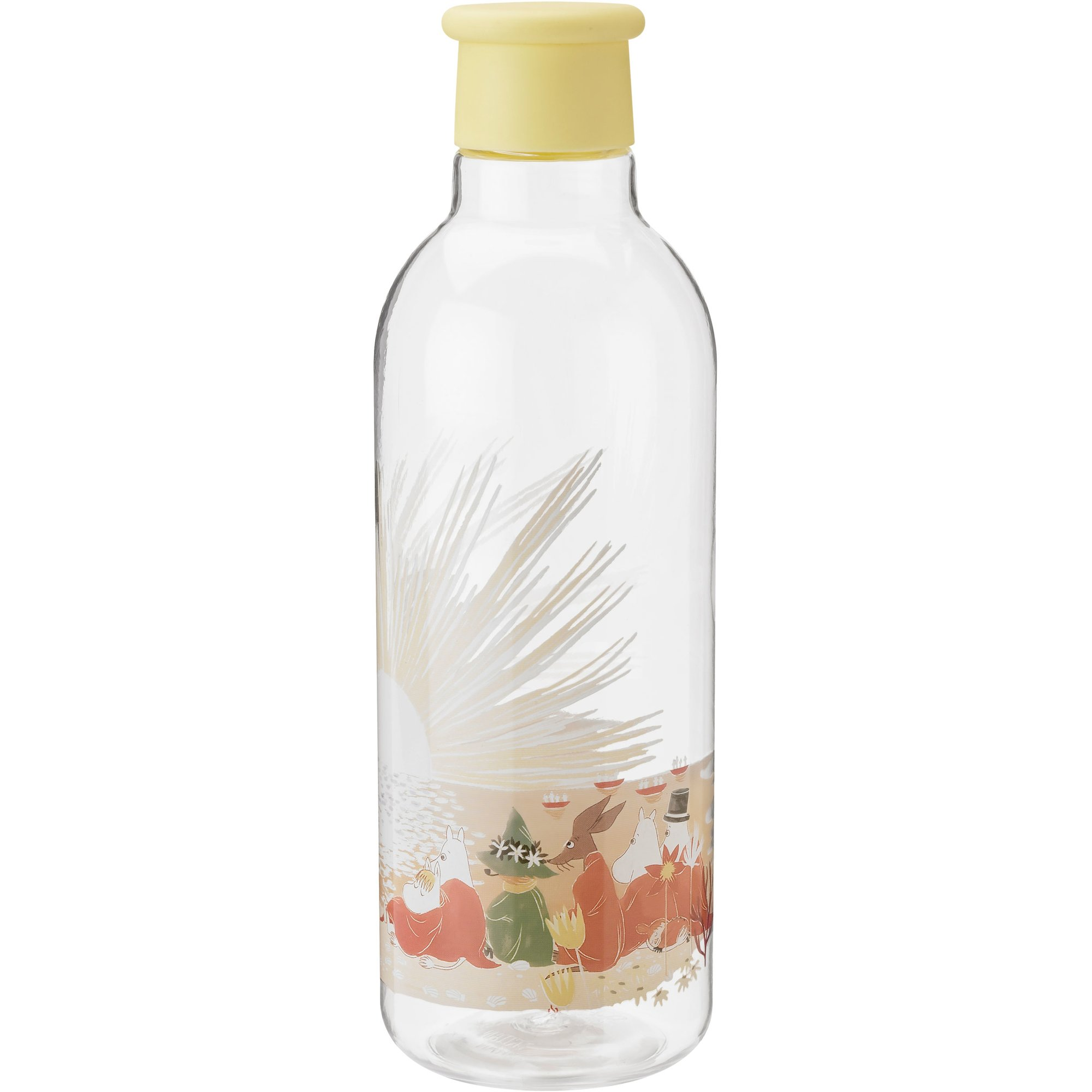 RIG-TIG DRINK-IT Mumintroll vattenflaska Gul