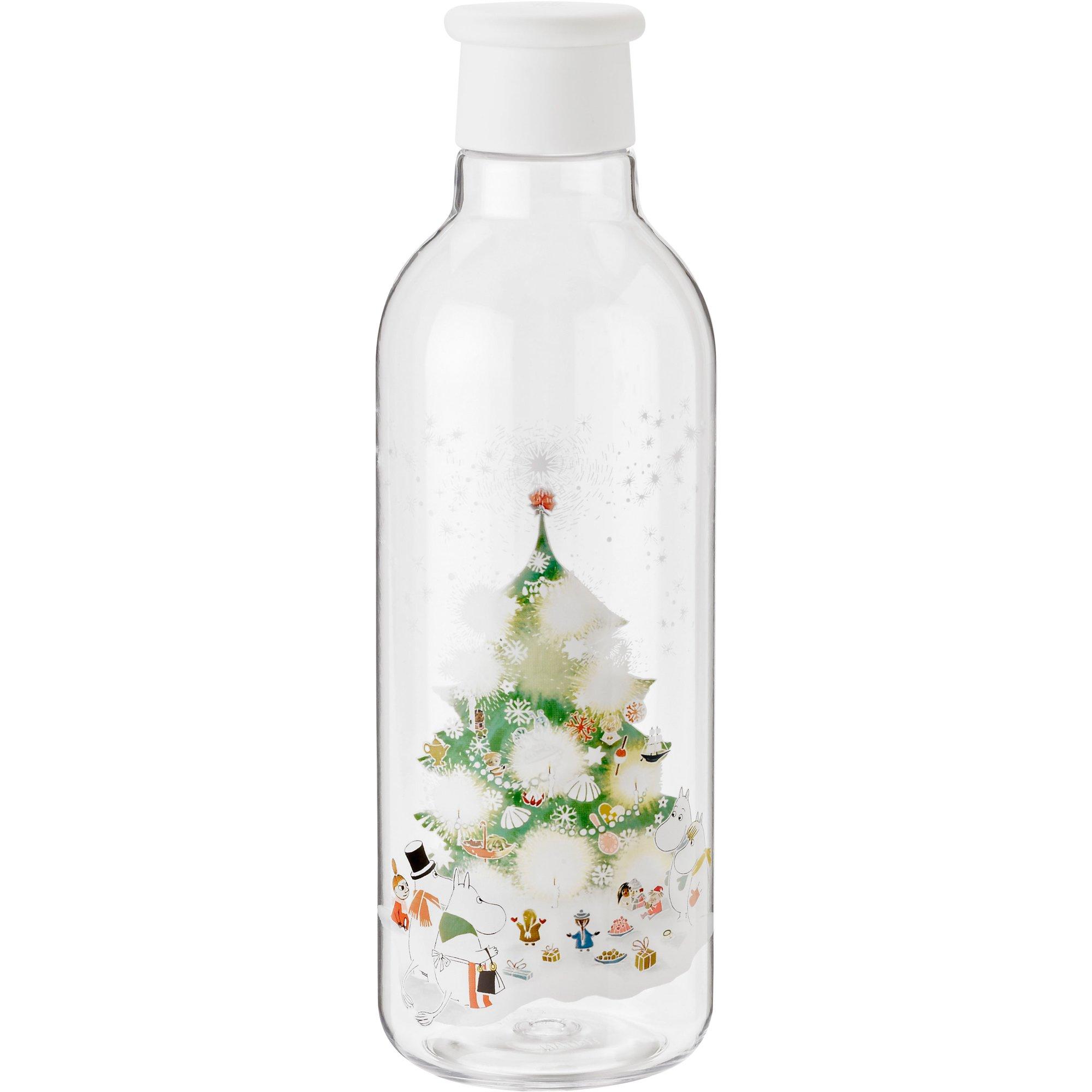 RIG-TIG DRINK-IT Vattenflaska 075 liter White Moomin