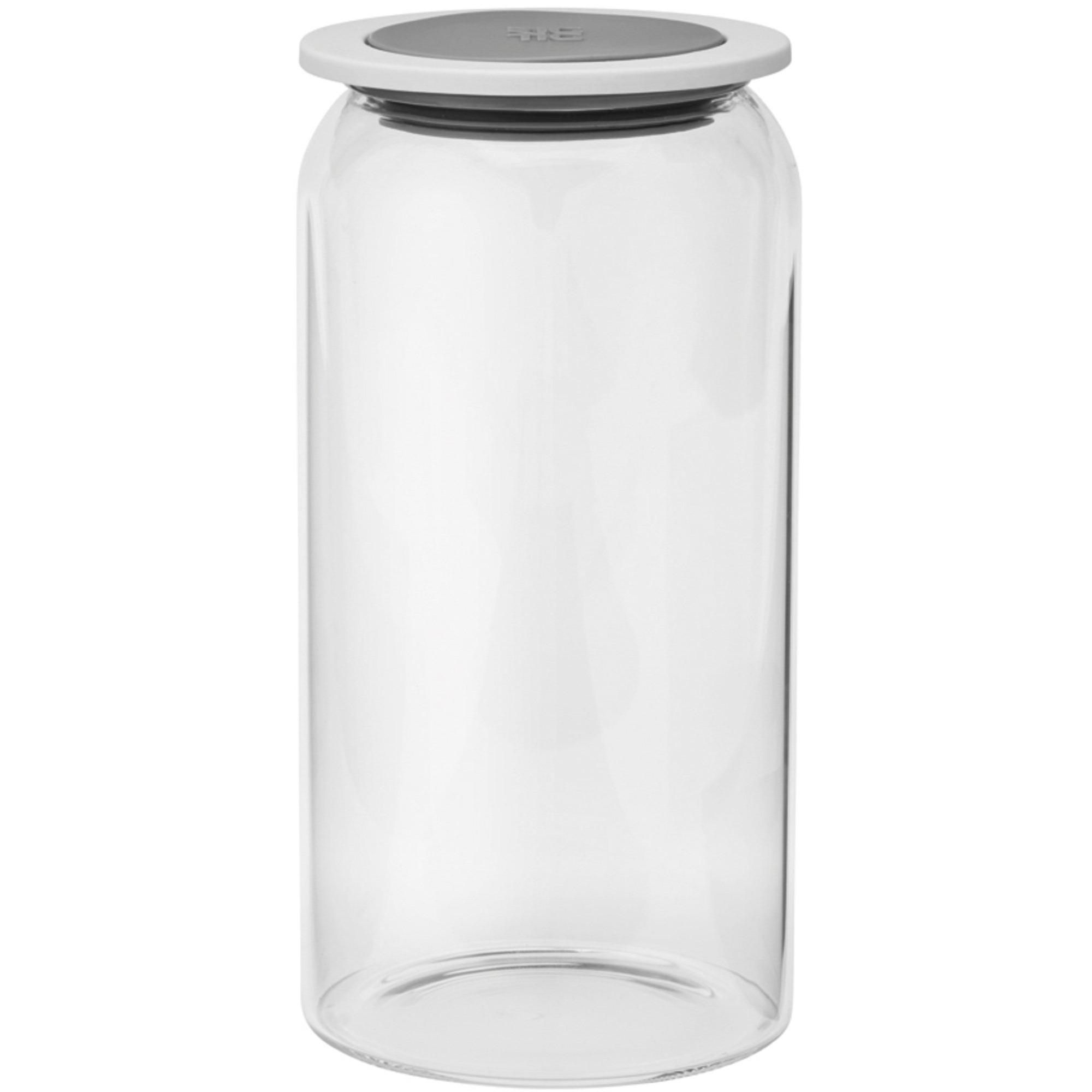 RIG-TIG by GOODIES förvaringsburk med lock glas – 15 l