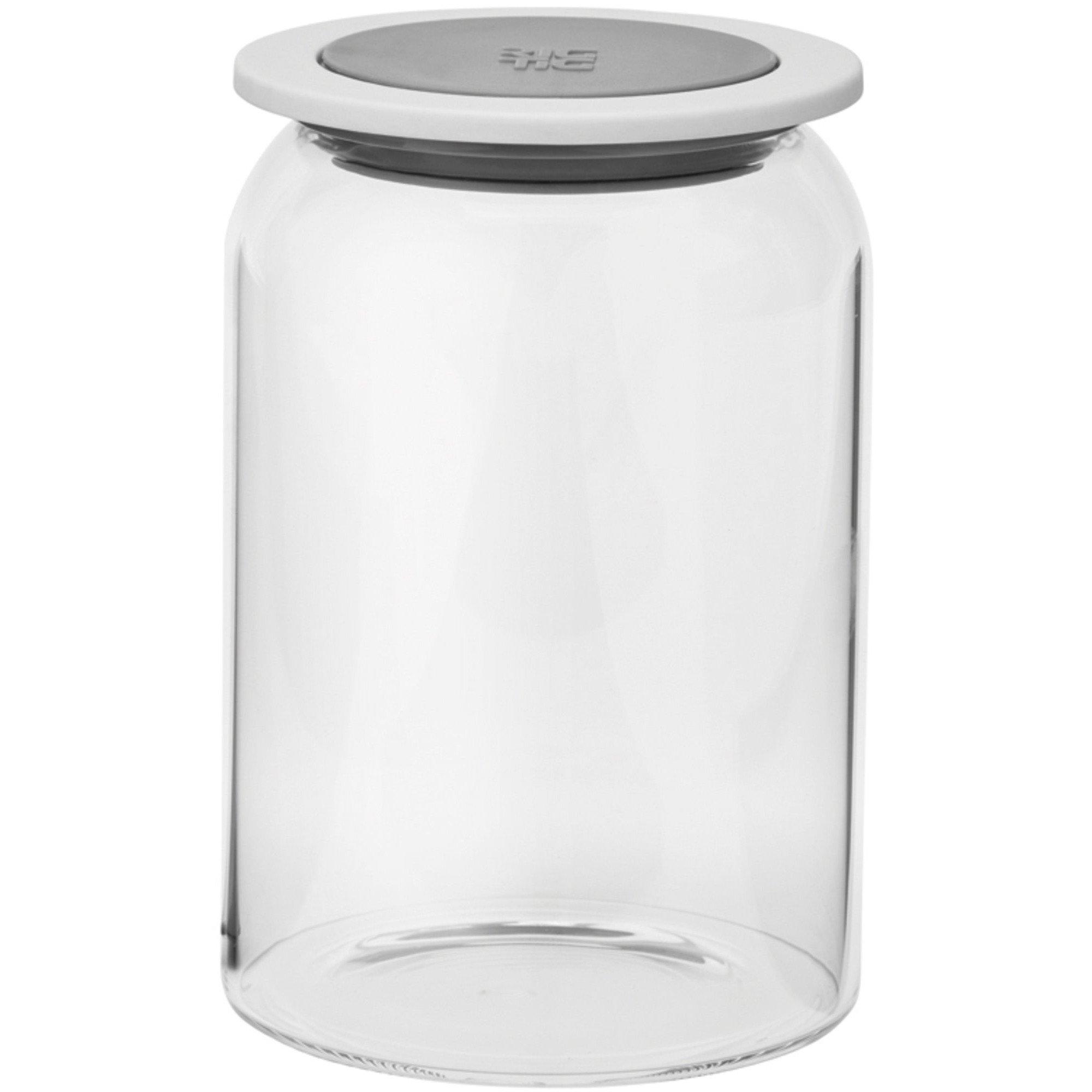RIG-TIG by GOODIES förvaringsburk med lock glas – 1 l