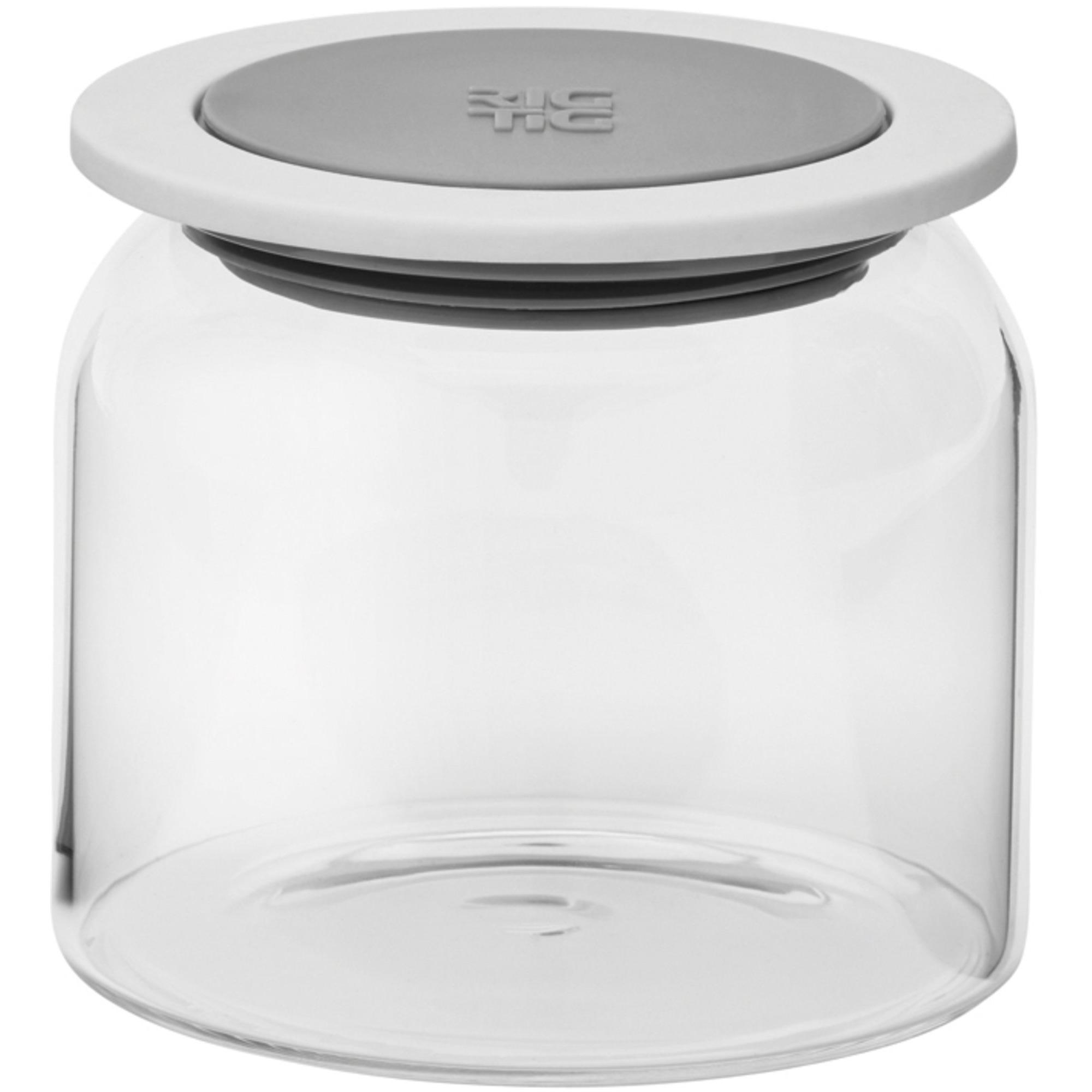 RIG-TIG by GOODIES förvaringsburk med lock glas – 05 l