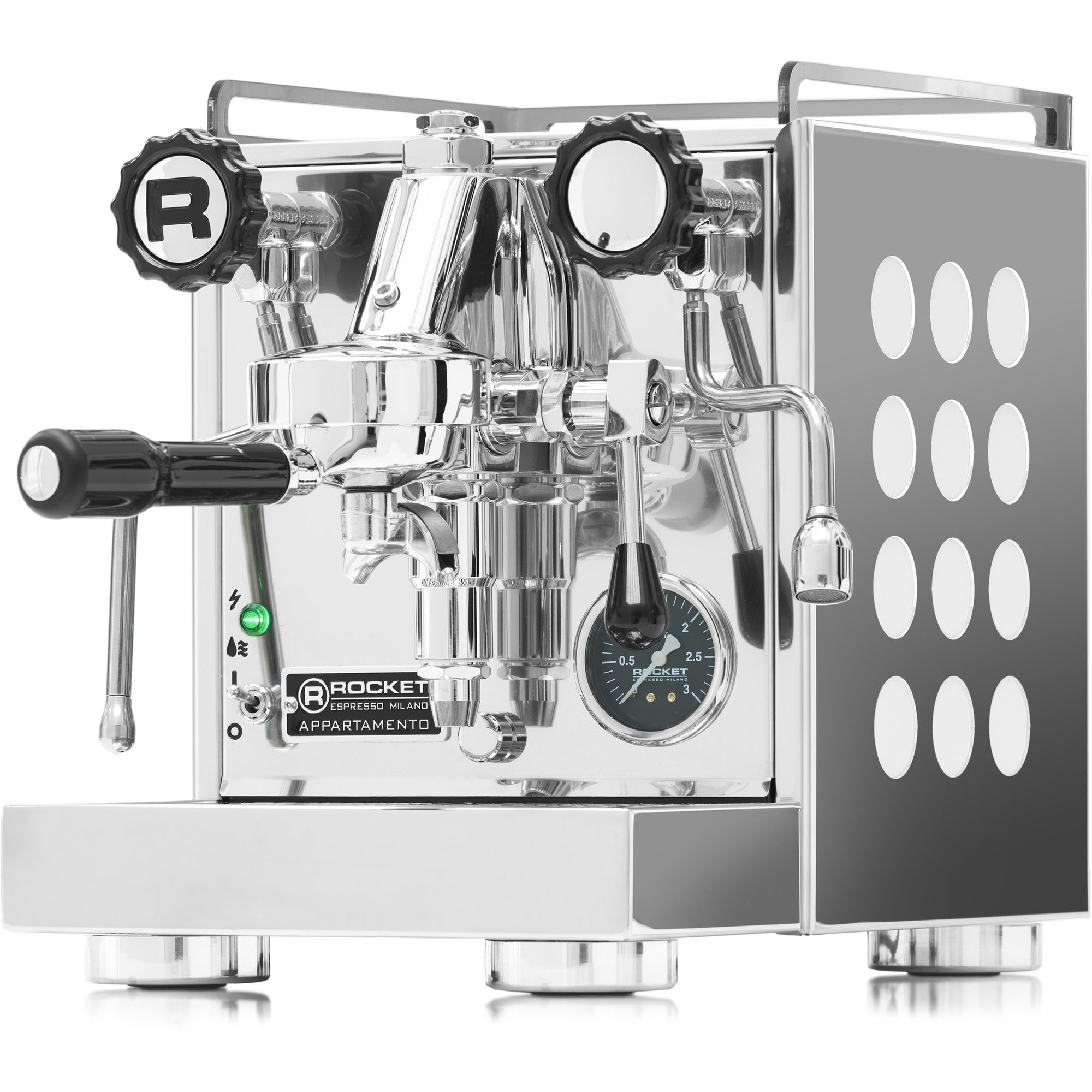 Rocket Appartamento Espressomaskin Vit