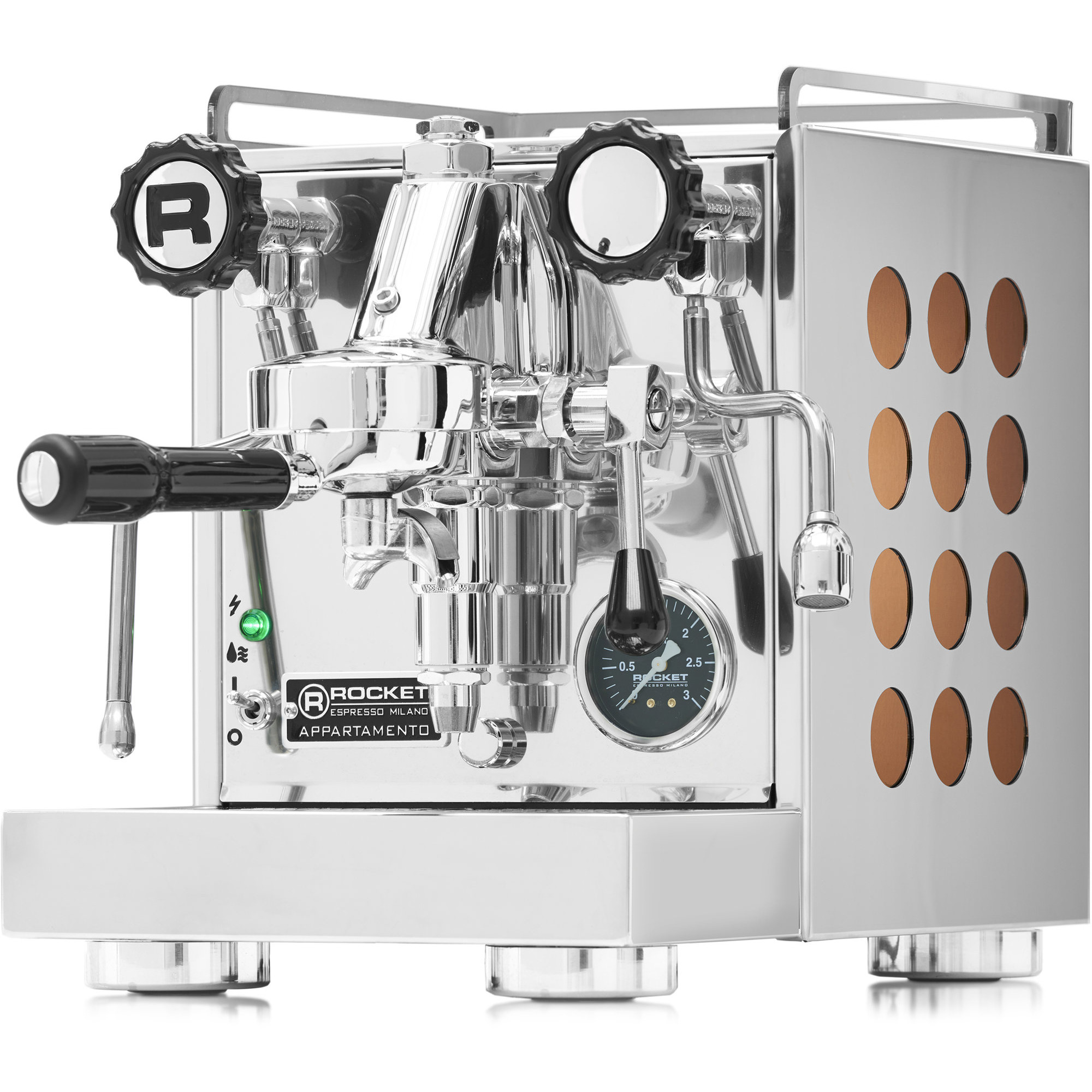 Rocket Appartamento Espressomaskin Koppar