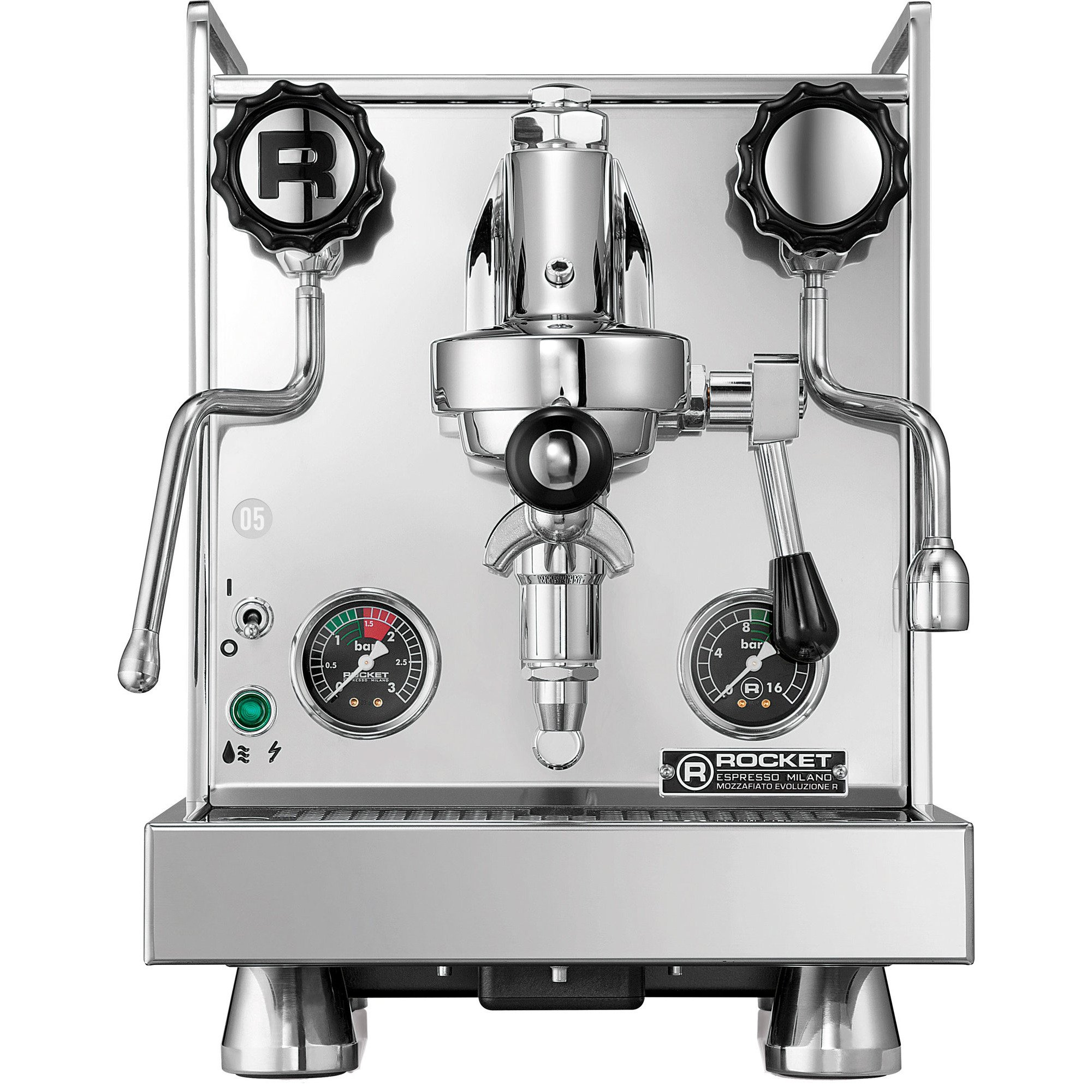 Rocket Mozzafiato Cronometro R Espressomaskin Stål