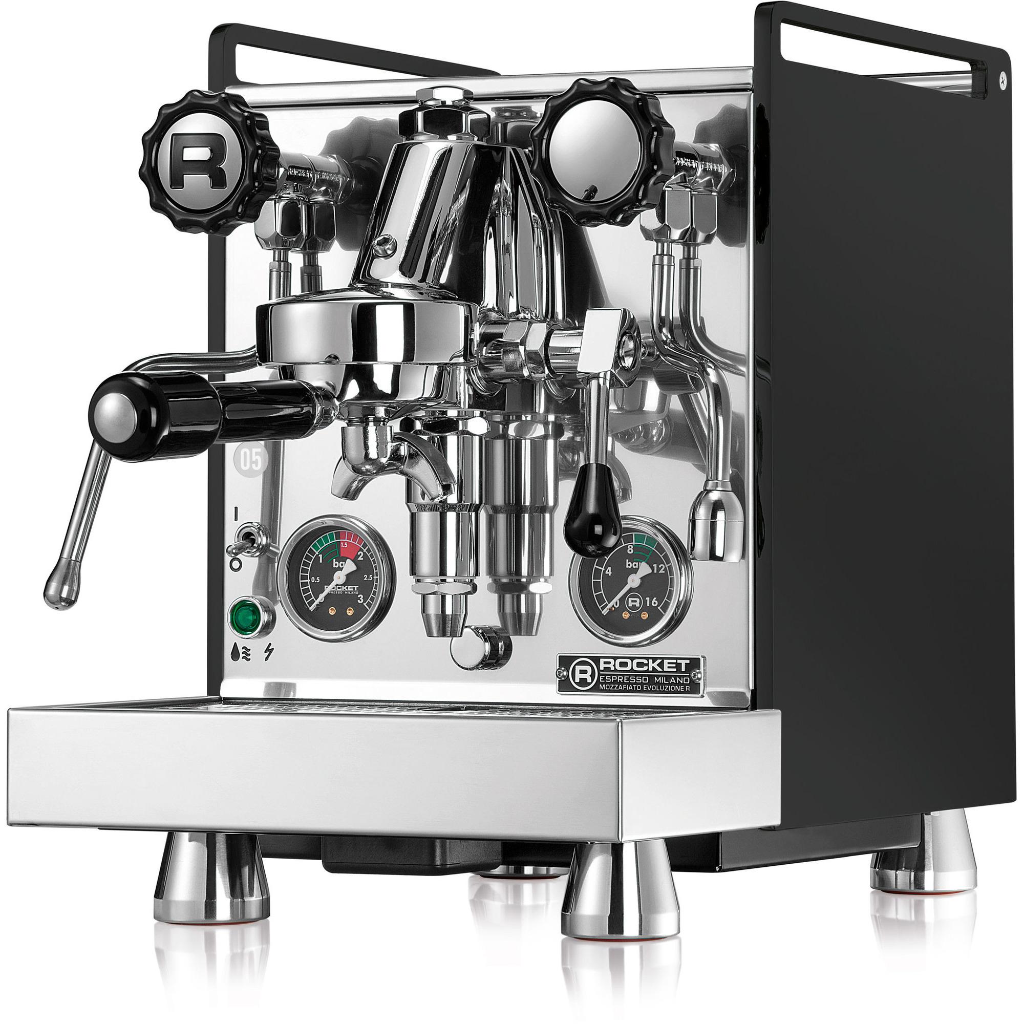 Rocket Mozzafiato Cronometro R Espressomaskin Svart