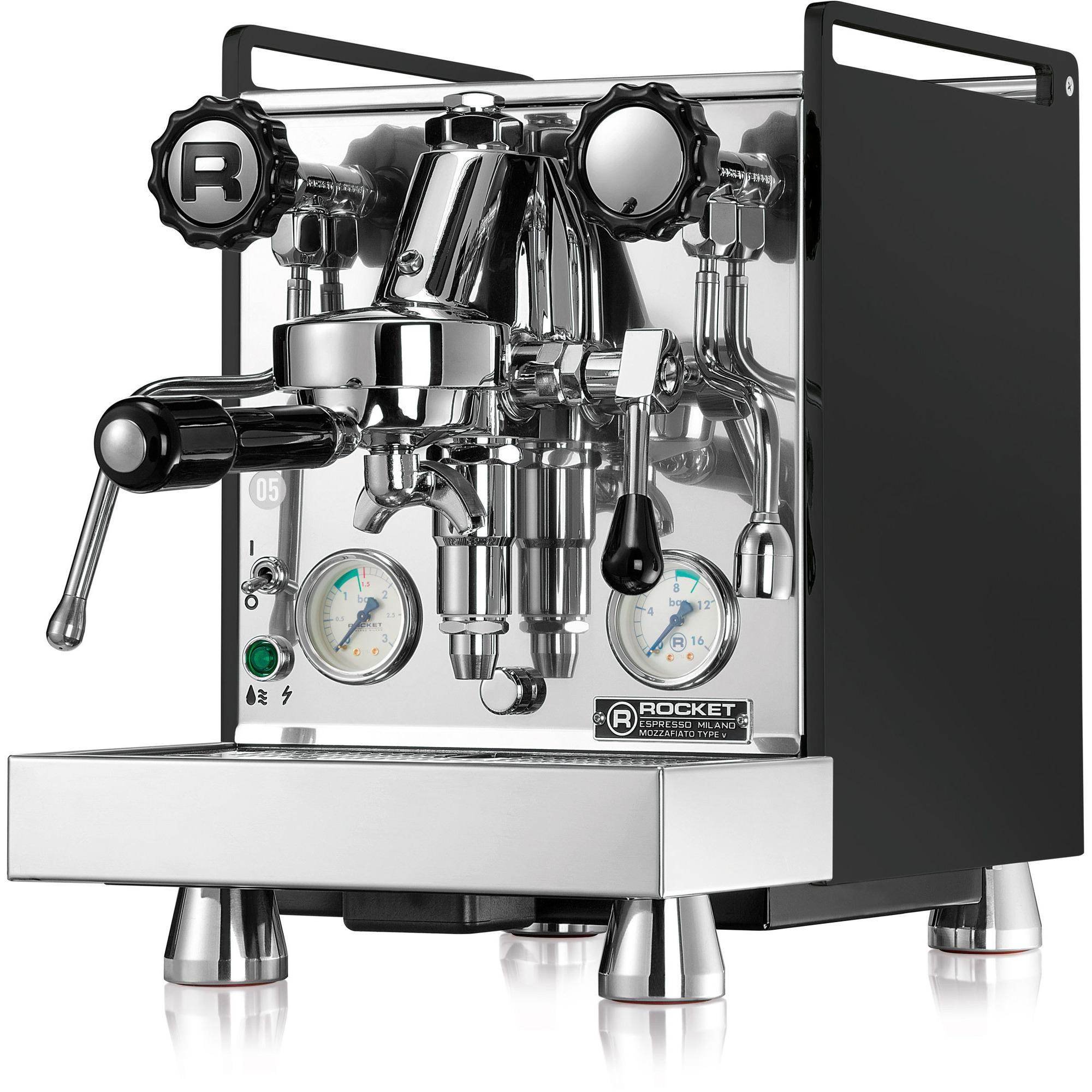 Rocket Mozzafiato Cronometro V Espressomaskin Svart