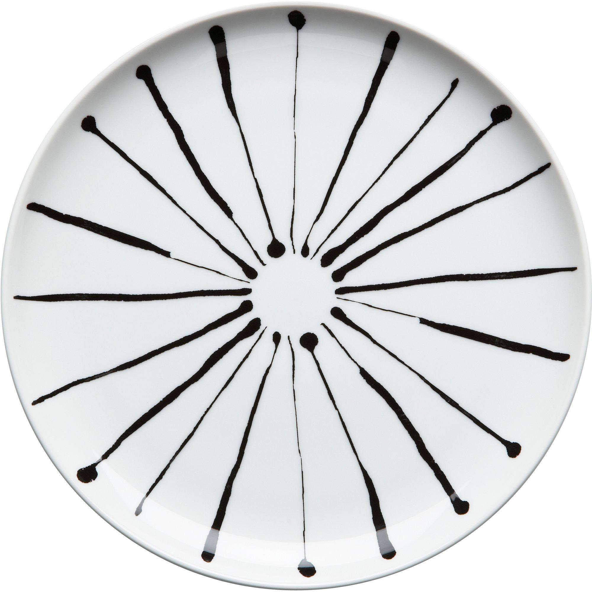 Rörstrand Filippa K Assiett 19 cm Ink Stripe