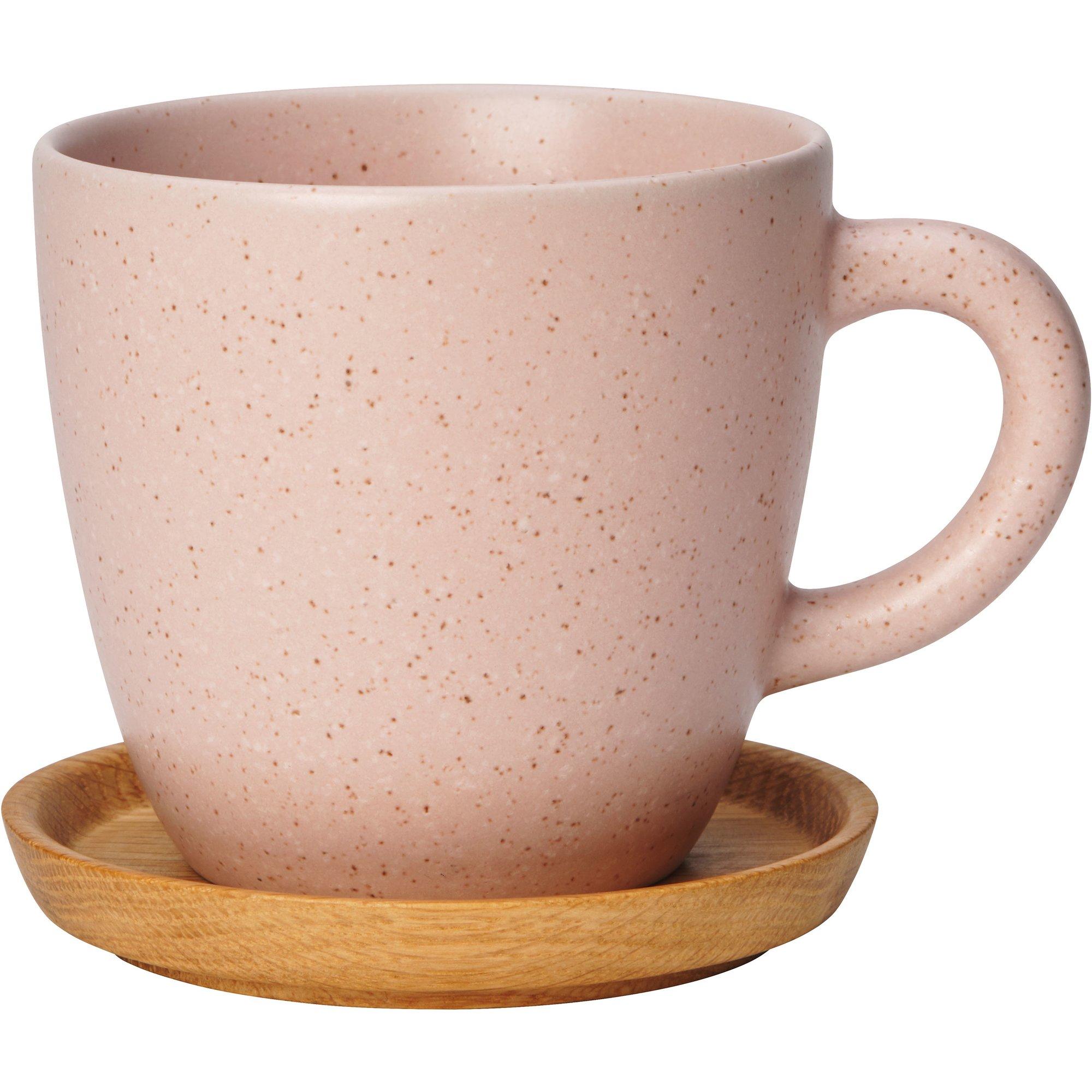Rörstrand Höganäs Keramik Kaffemugg 33 cm Vild Rose