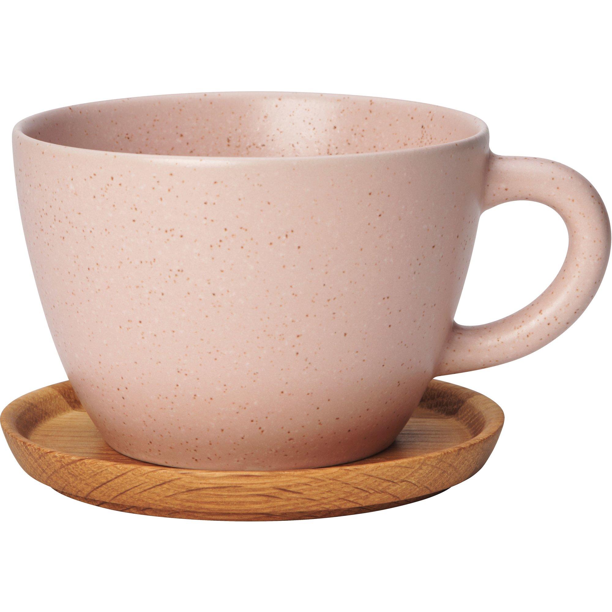 Rörstrand Höganäs Keramik Temugg 50cl Vild Rose