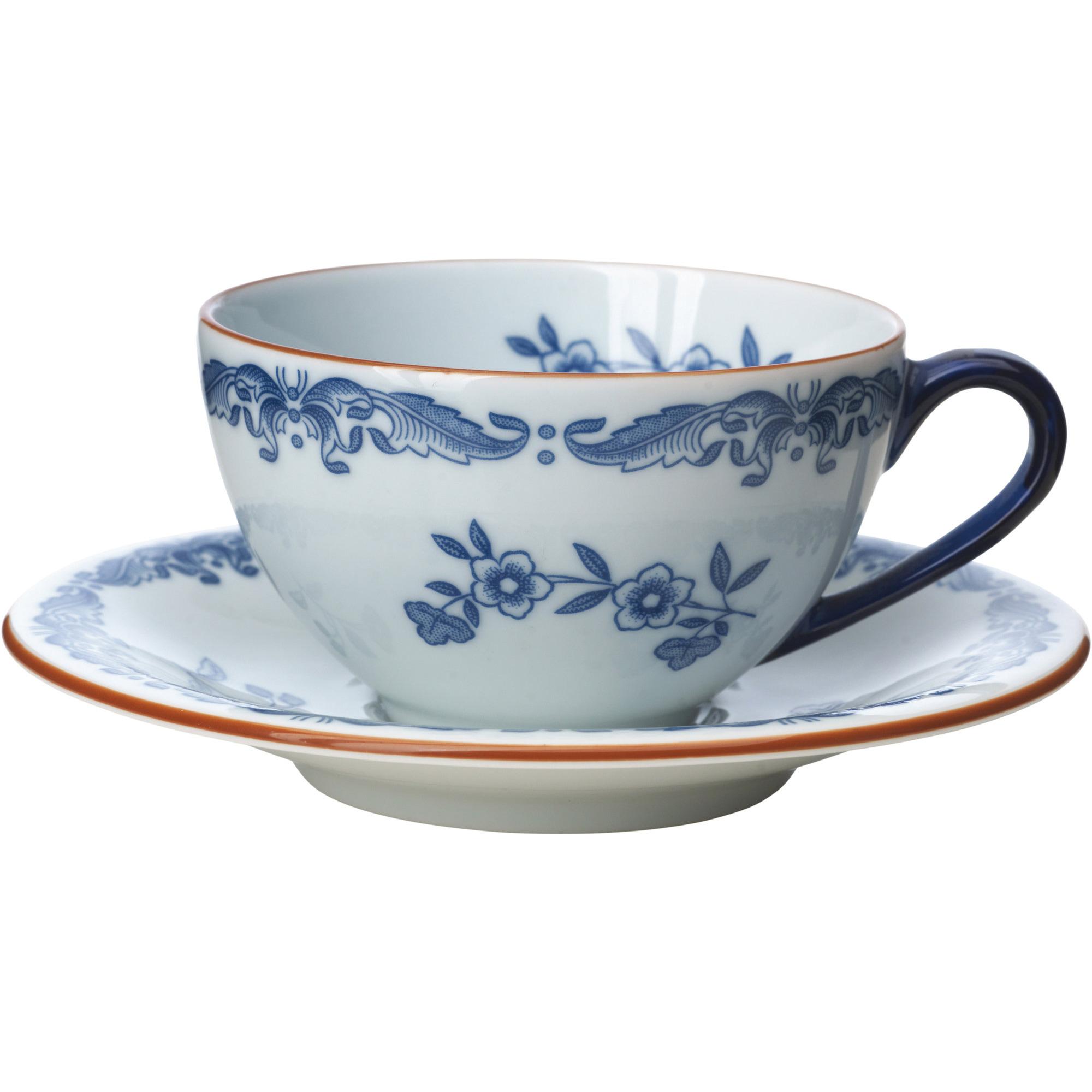 Rörstrand Ostindia Fat till Kaffekopp 16 cl