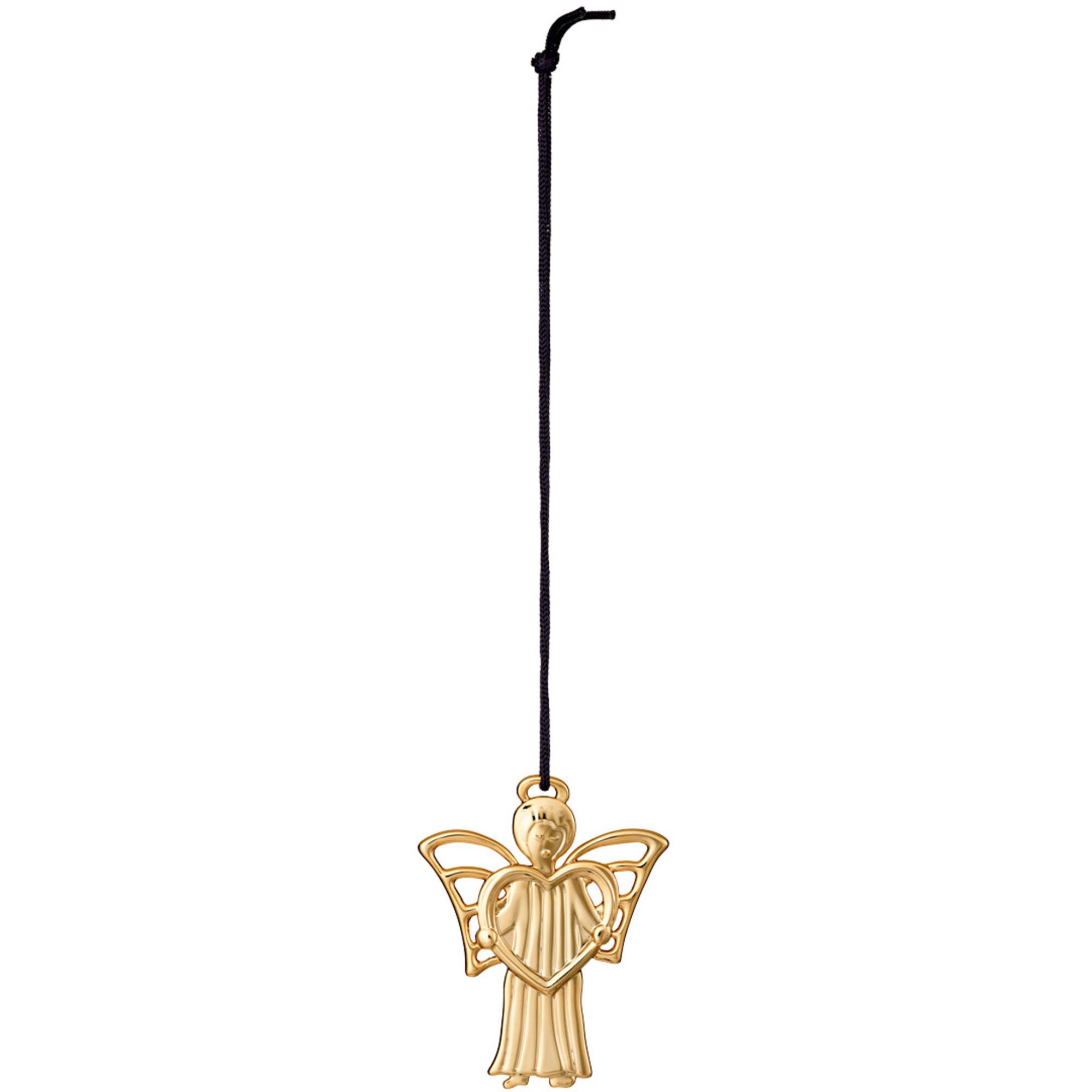 Rosendahl Ängel med gåva 6 cm Förgylld