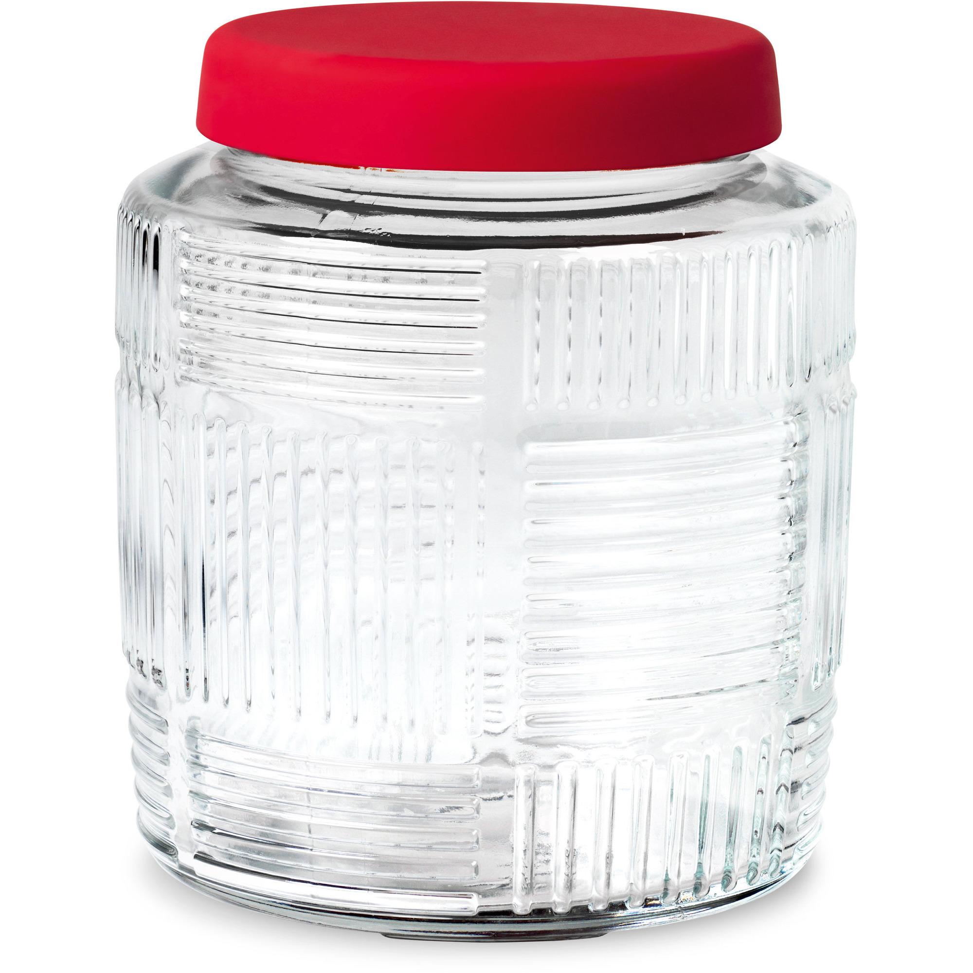Rosendahl Nanna Ditzel Förvaringsglas 09 L. rød