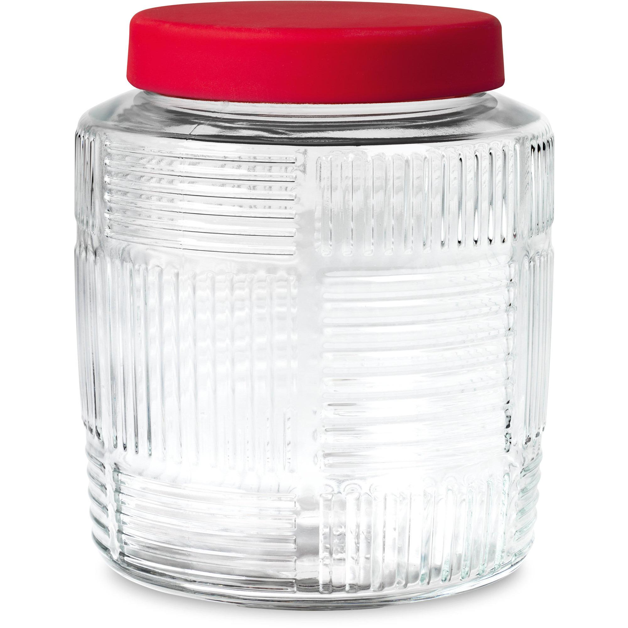 Rosendahl Nanna Ditzel Förvaringsglas 2 L. rød