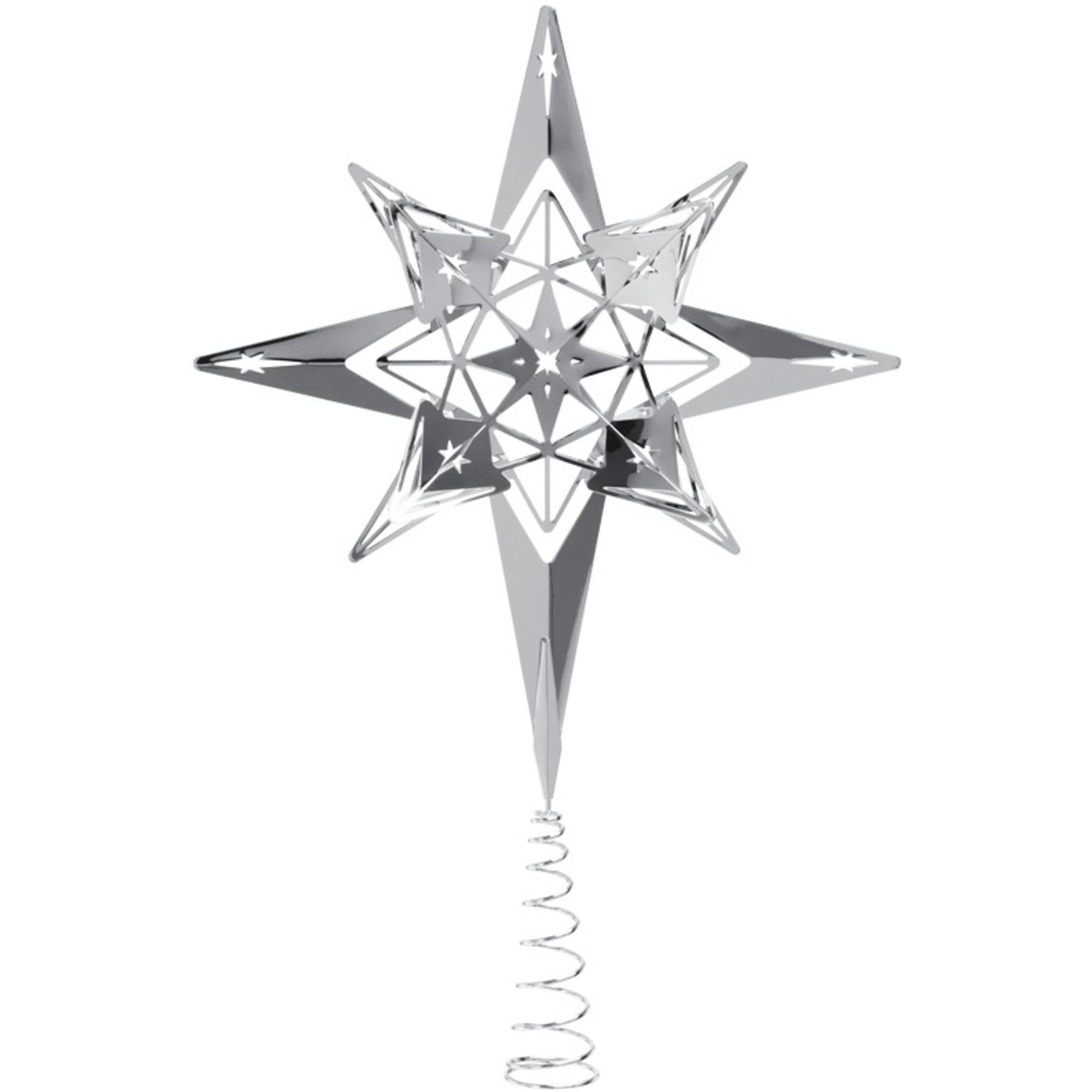 Rosendahl Toppstjärna 23 cm Försilvrad