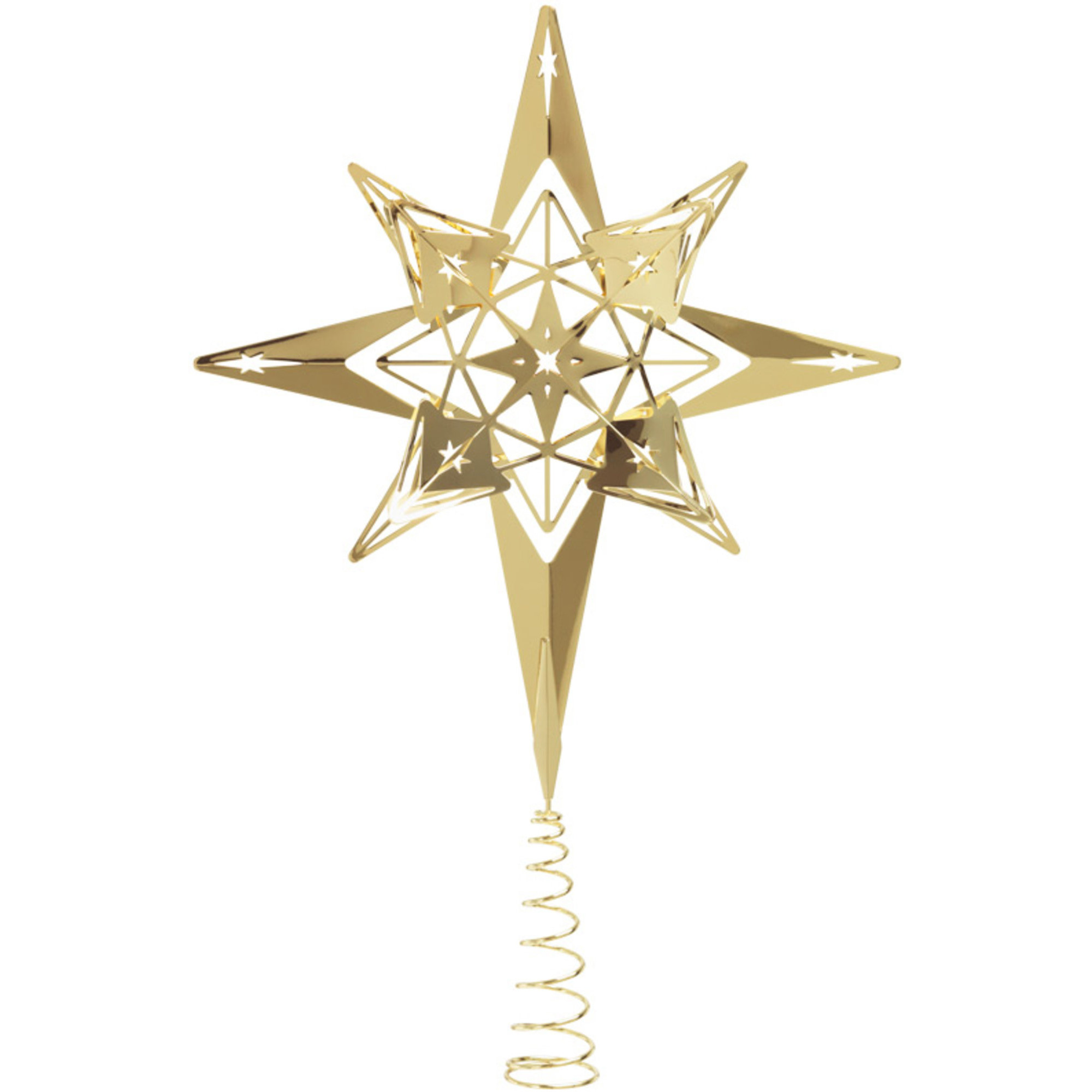 Rosendahl Toppstjärna 23 cm Förgylld