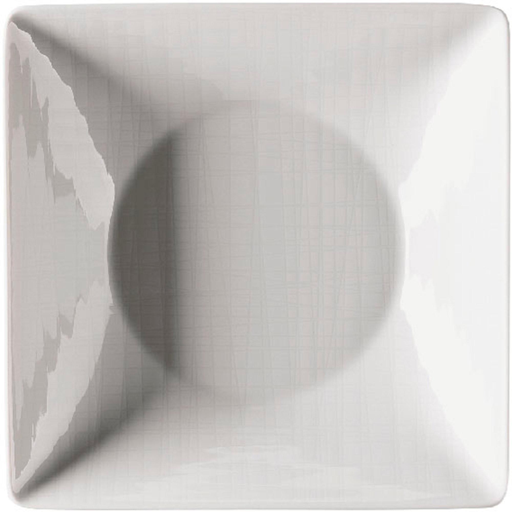 Rosenthal Mesh Relief Tallrik Djup Kvadratisk 20 cm