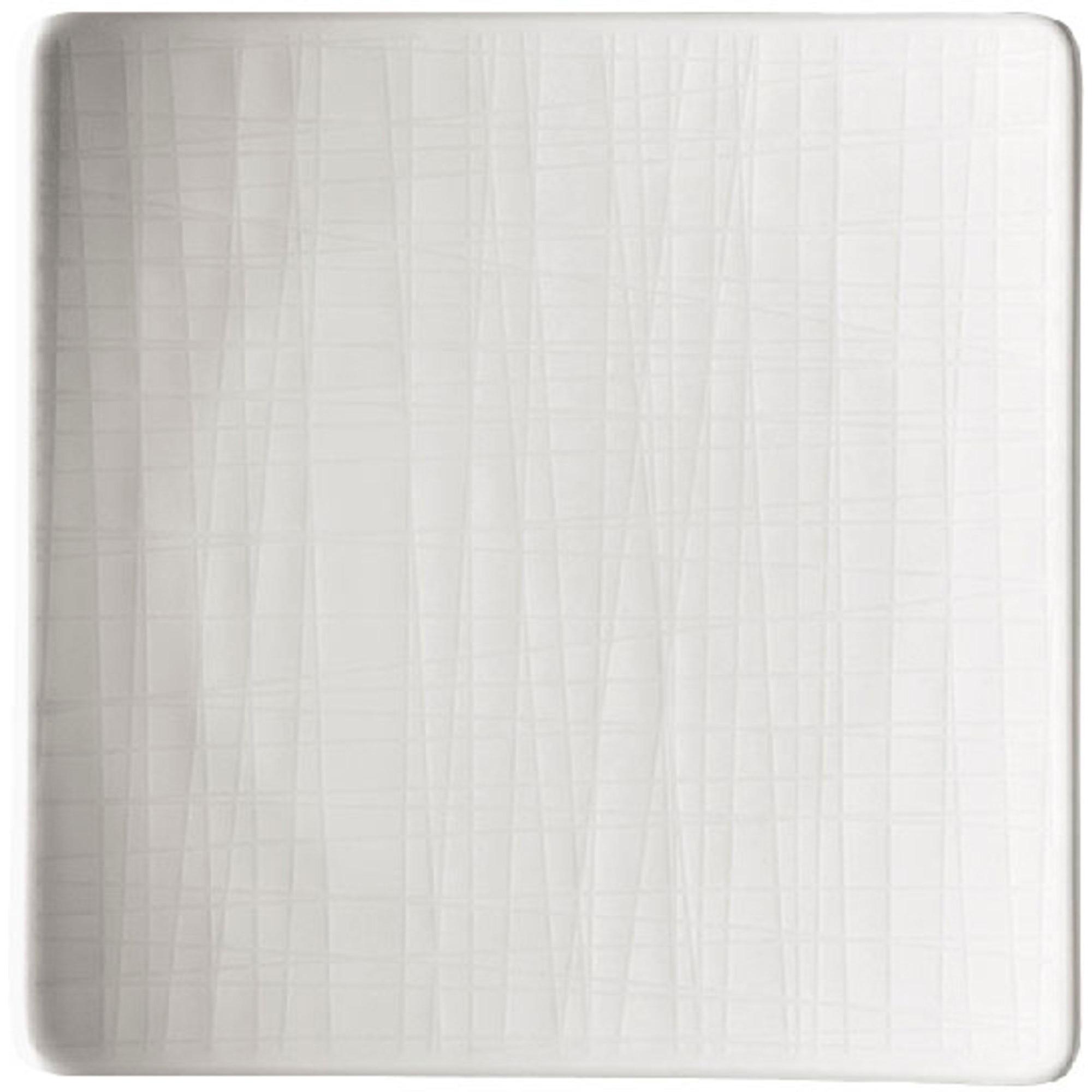 Rosenthal Mesh Relief Tallrik Kvadratisk 14 cm