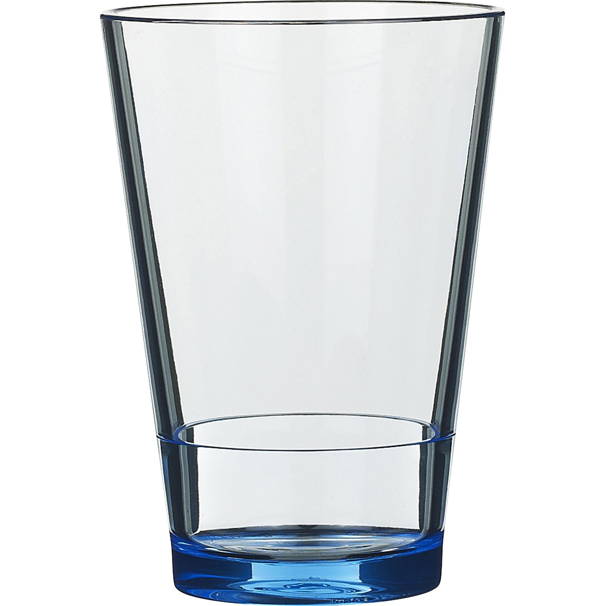 Rosti Mepal Flow Vattenglas 275 ml Retroblå 6-pack