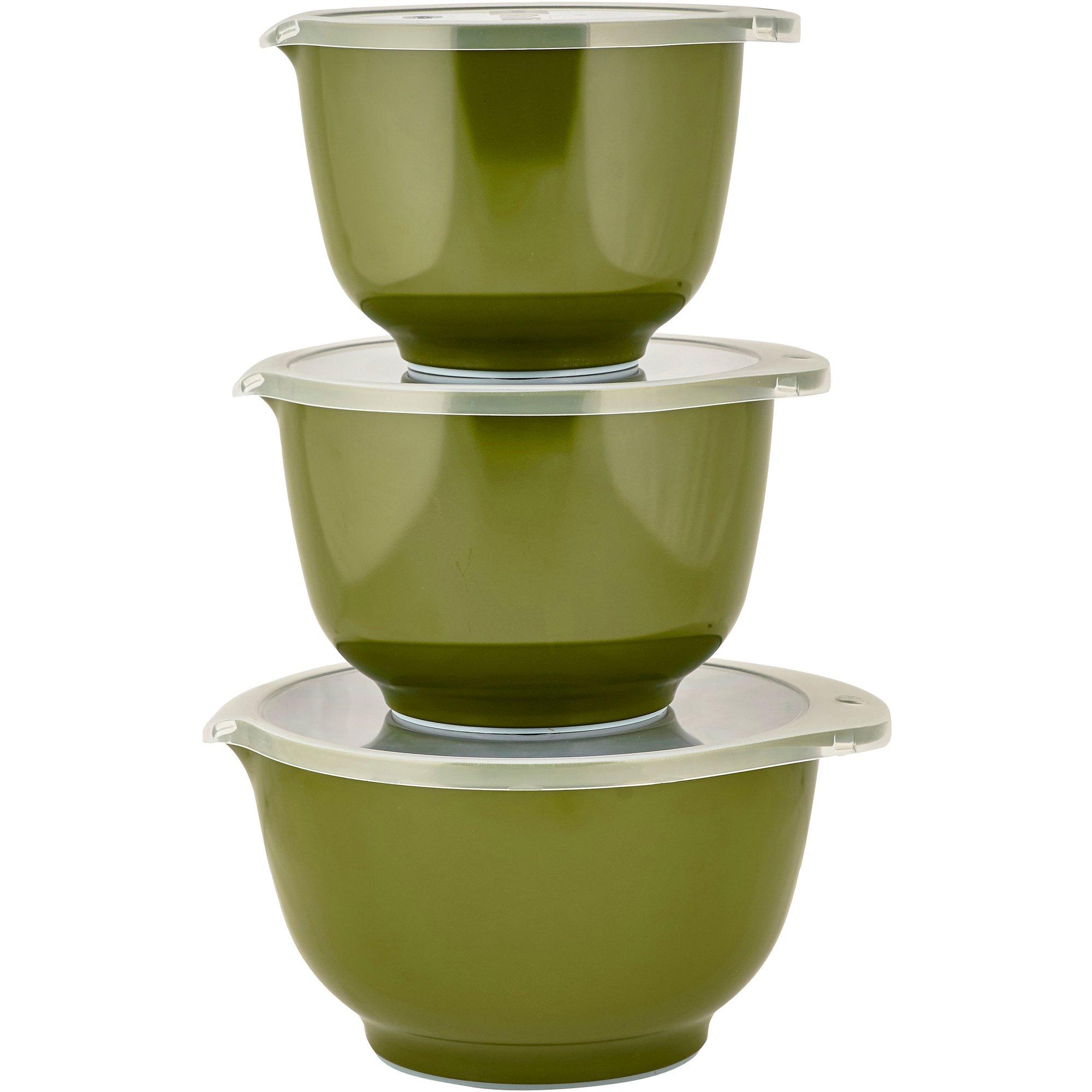 Rosti Mepal Skålset 6 delar Olivgrön