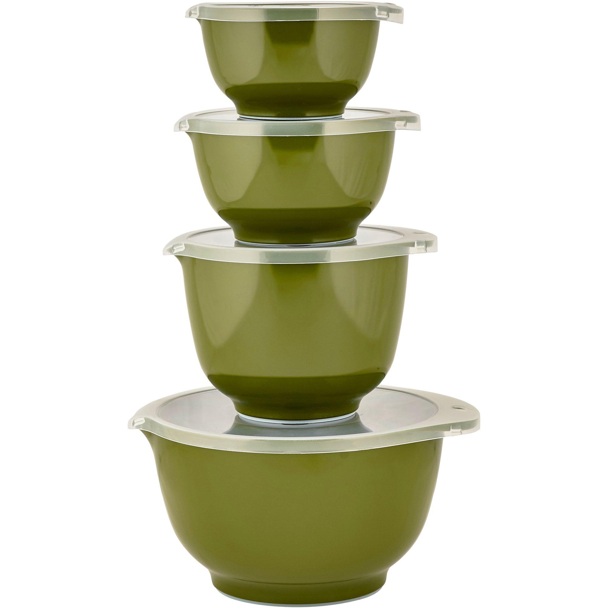 Rosti Mepal Skålset 8 delar Olivgrön