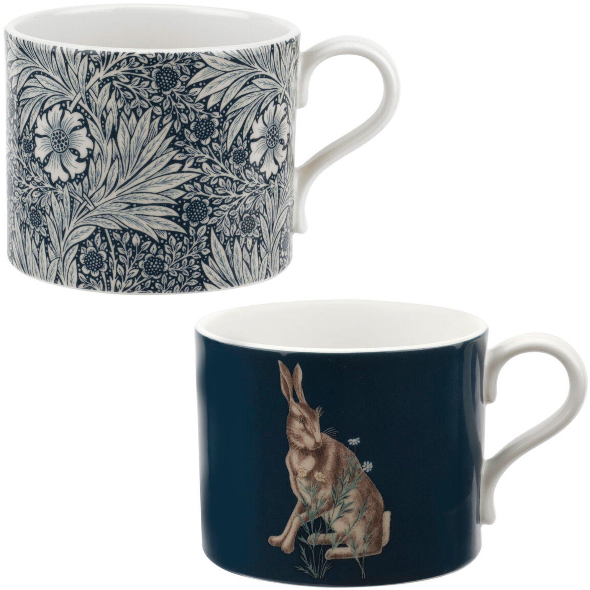 Royal Worcester Marigold & Hare Mugg 2 st