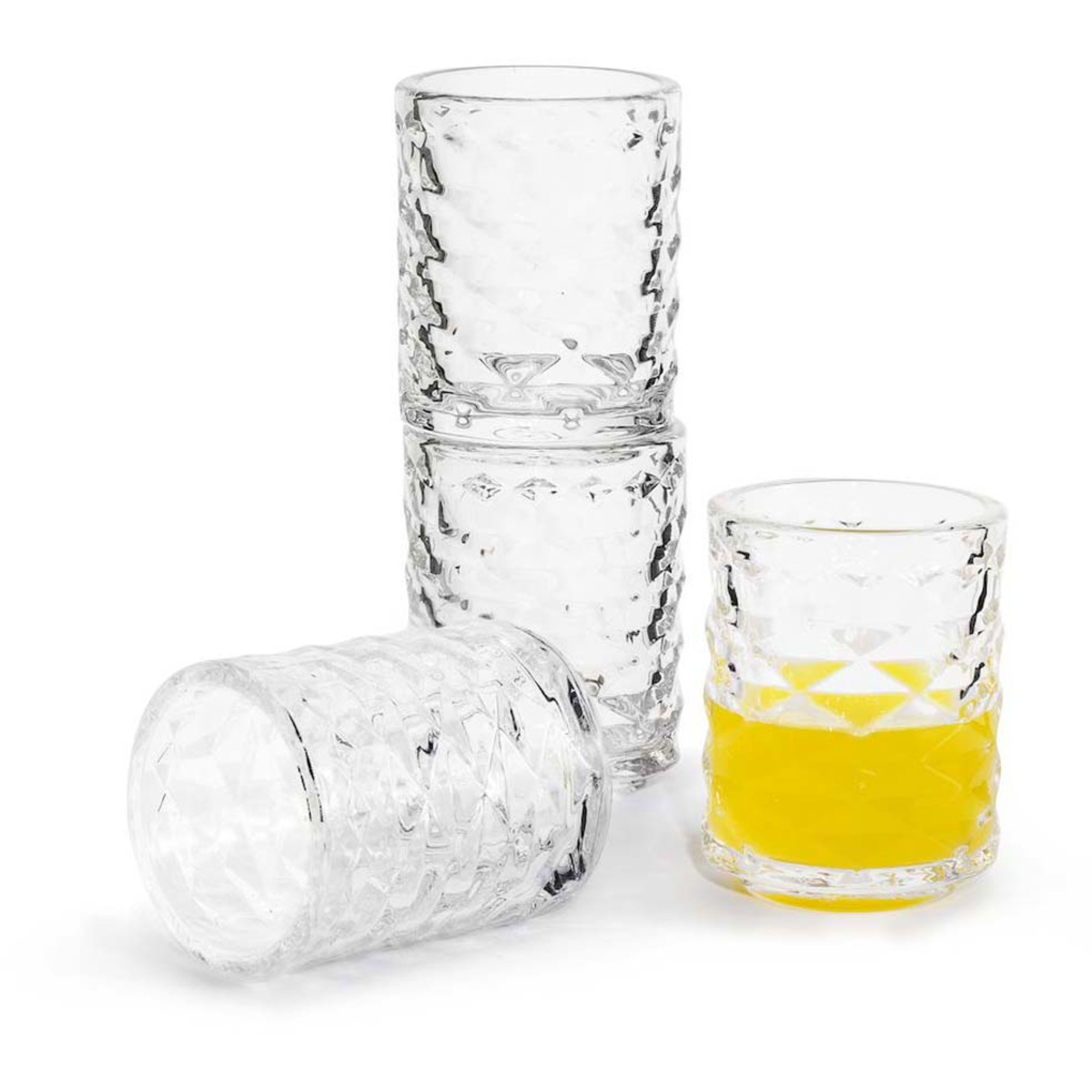Sagaform Club Shotglas 4-pack