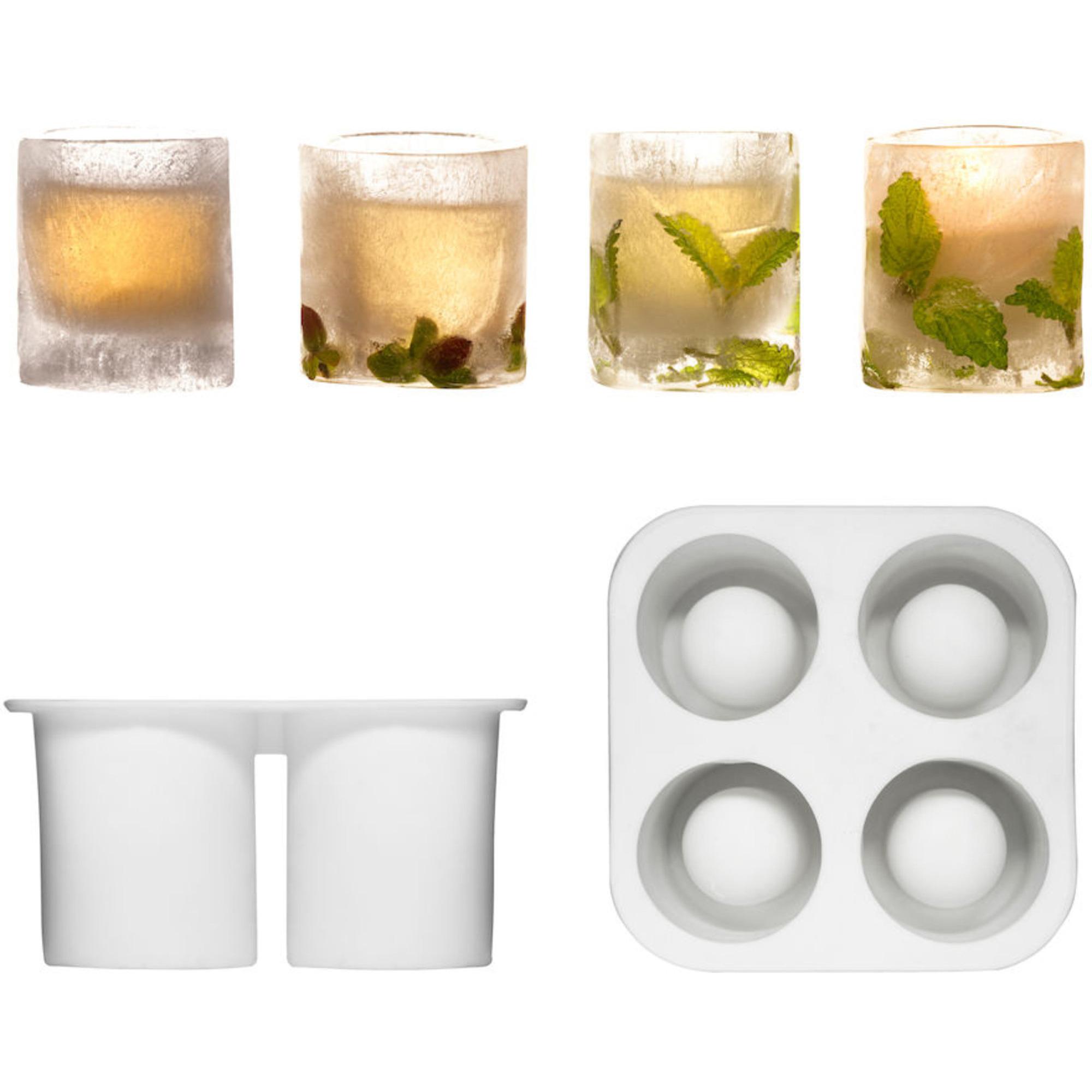 Sagaform Form för att göra snapsglas av is Gummi