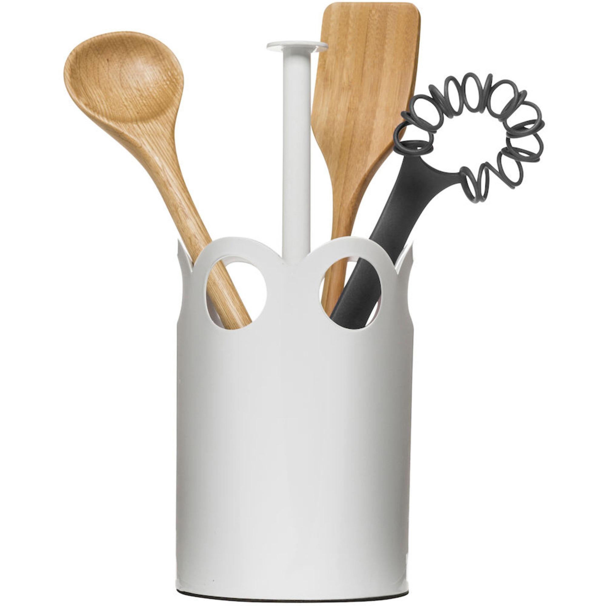 Sagaform Ställ för köksredskap Vit