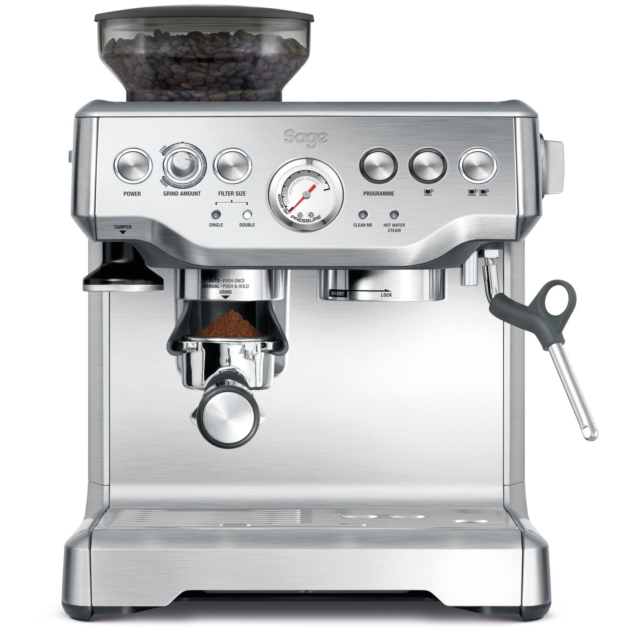 Sage BES875 The Barista Express Espressomaskin