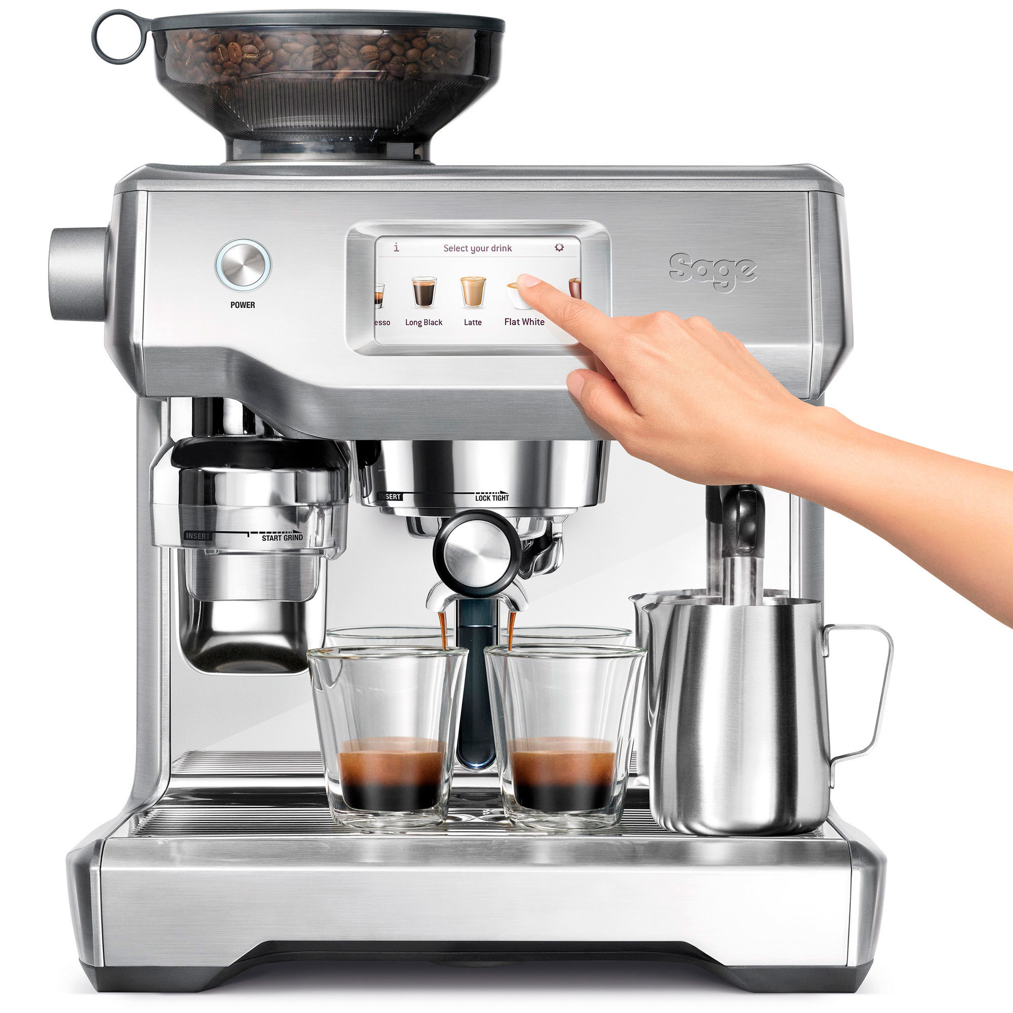 Sage SES990 The Oracle Touch espressomaskin