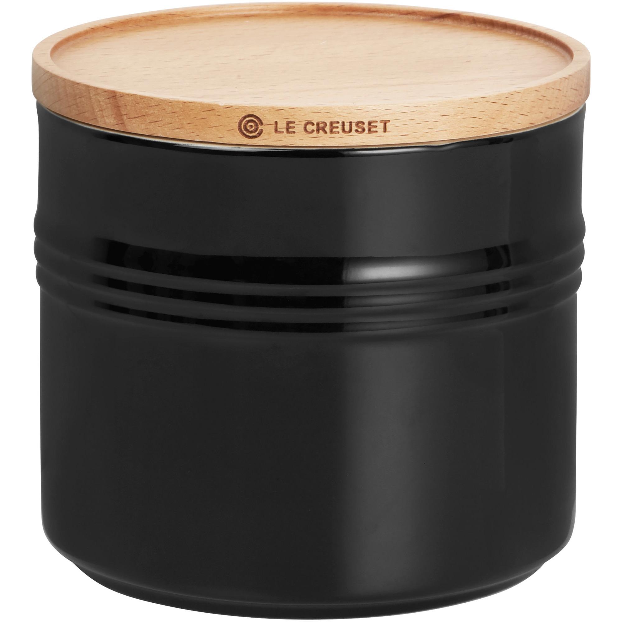 Le Creuset Scan. förvaringskruka 15 L/14 cm Black