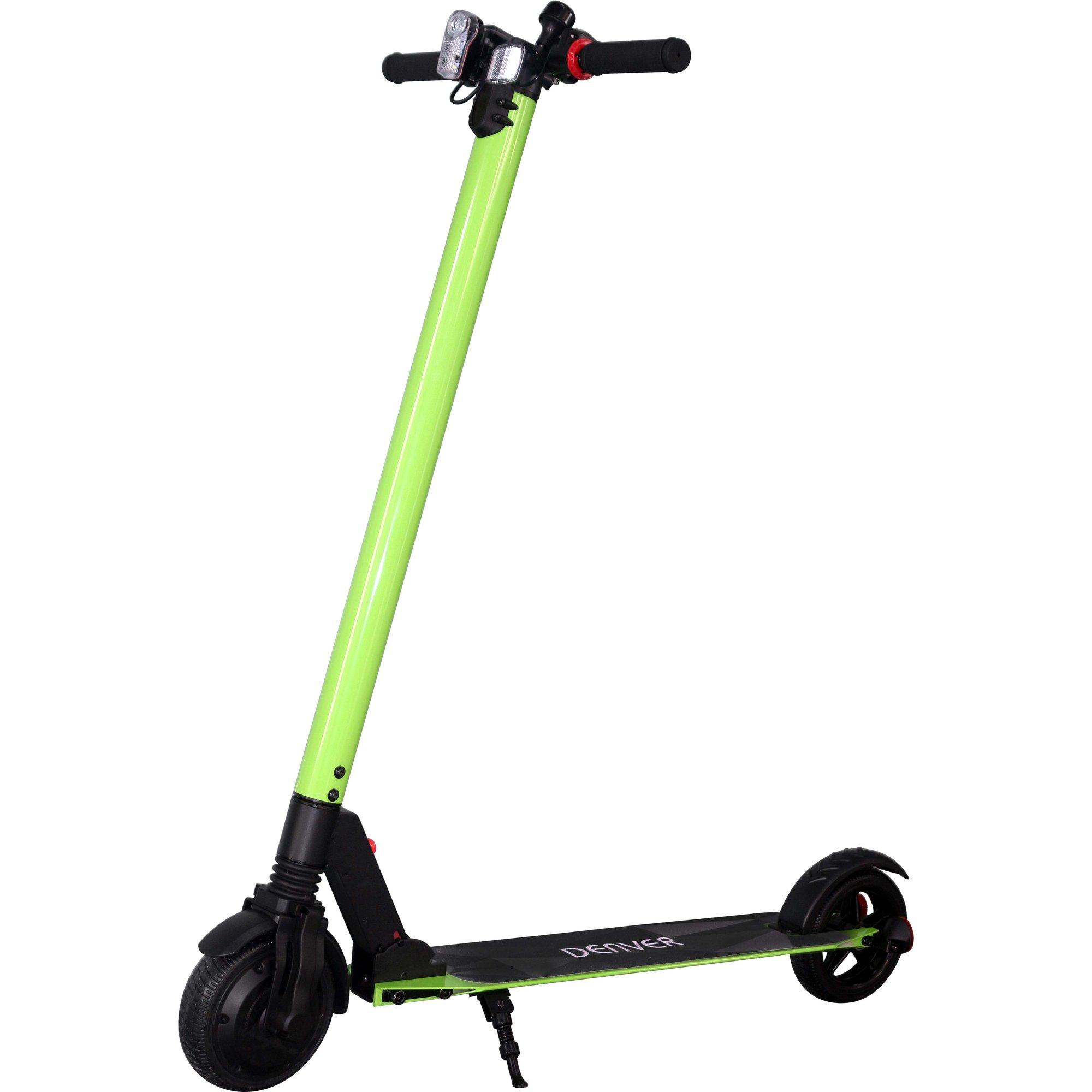 Denver SCO-65110 elektrisk scooter grön