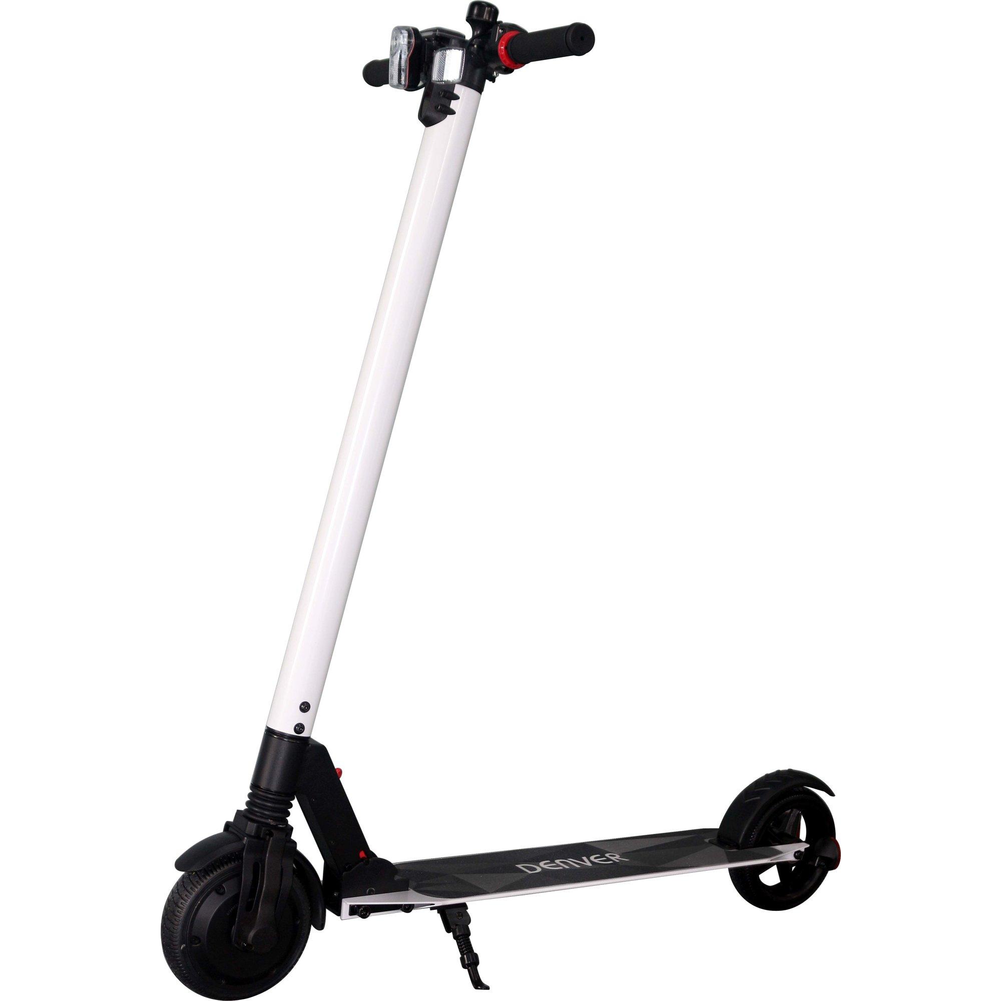 Denver SCO-65220 elektrisk scooter vit