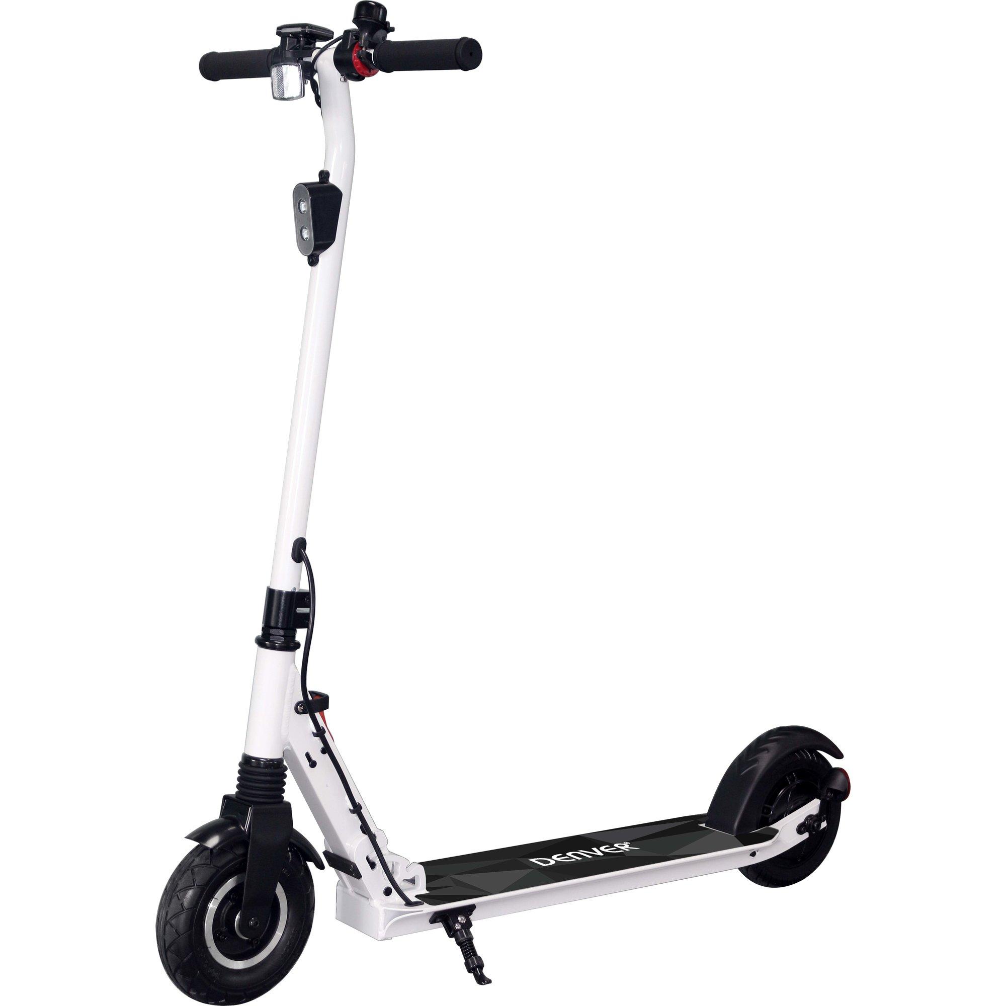 Denver SEL-80130 elektrisk scooter vit