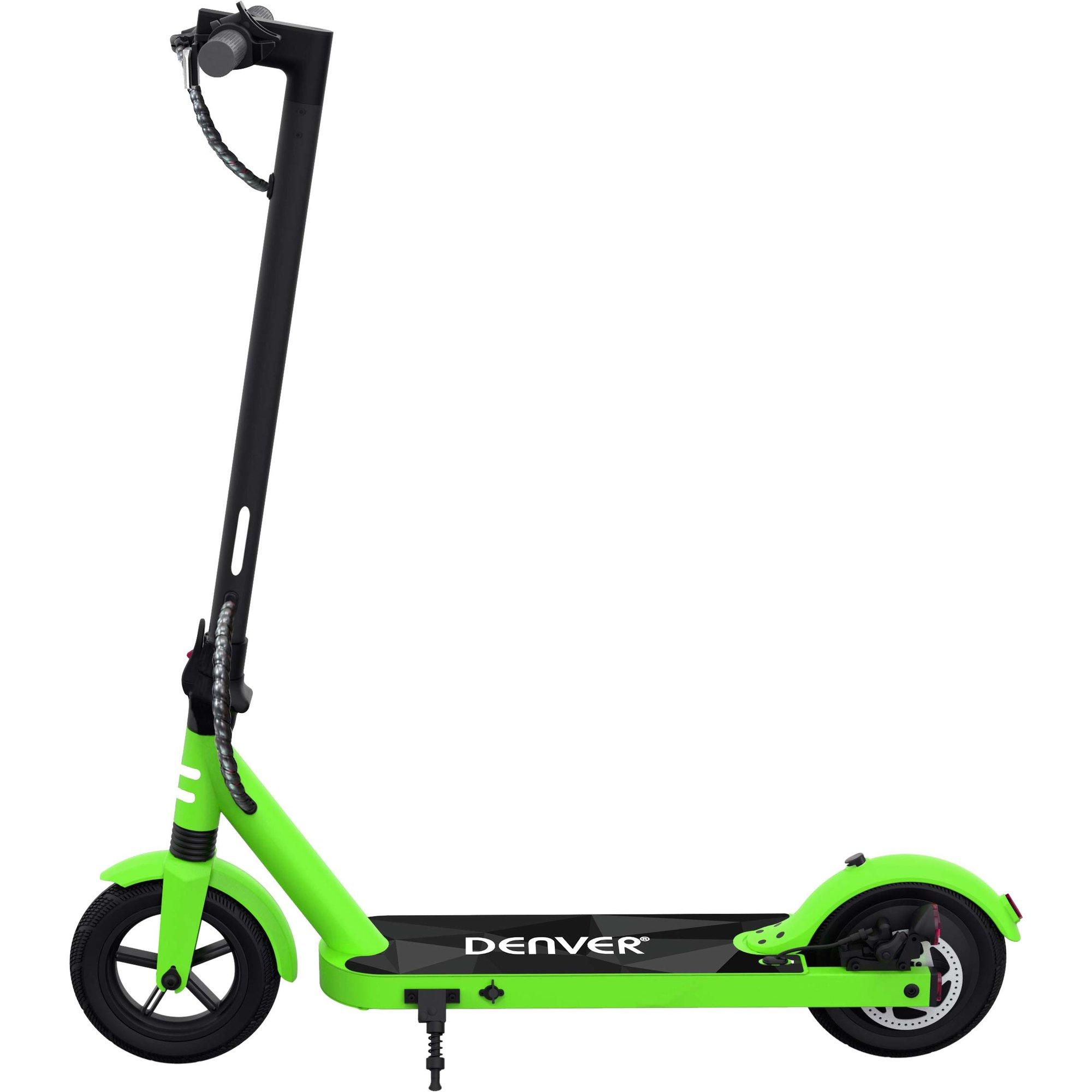 Denver SCO-85350 elektrisk scooter grön