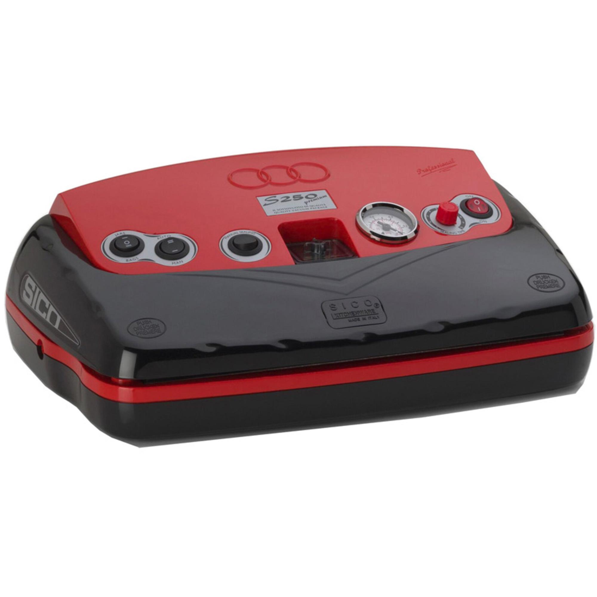 Sico S250 Vakuumförpackare Premium Red
